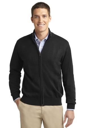 DISCONTINUED Port Authority Value Full-Zip Mock Neck Sweater. SW303