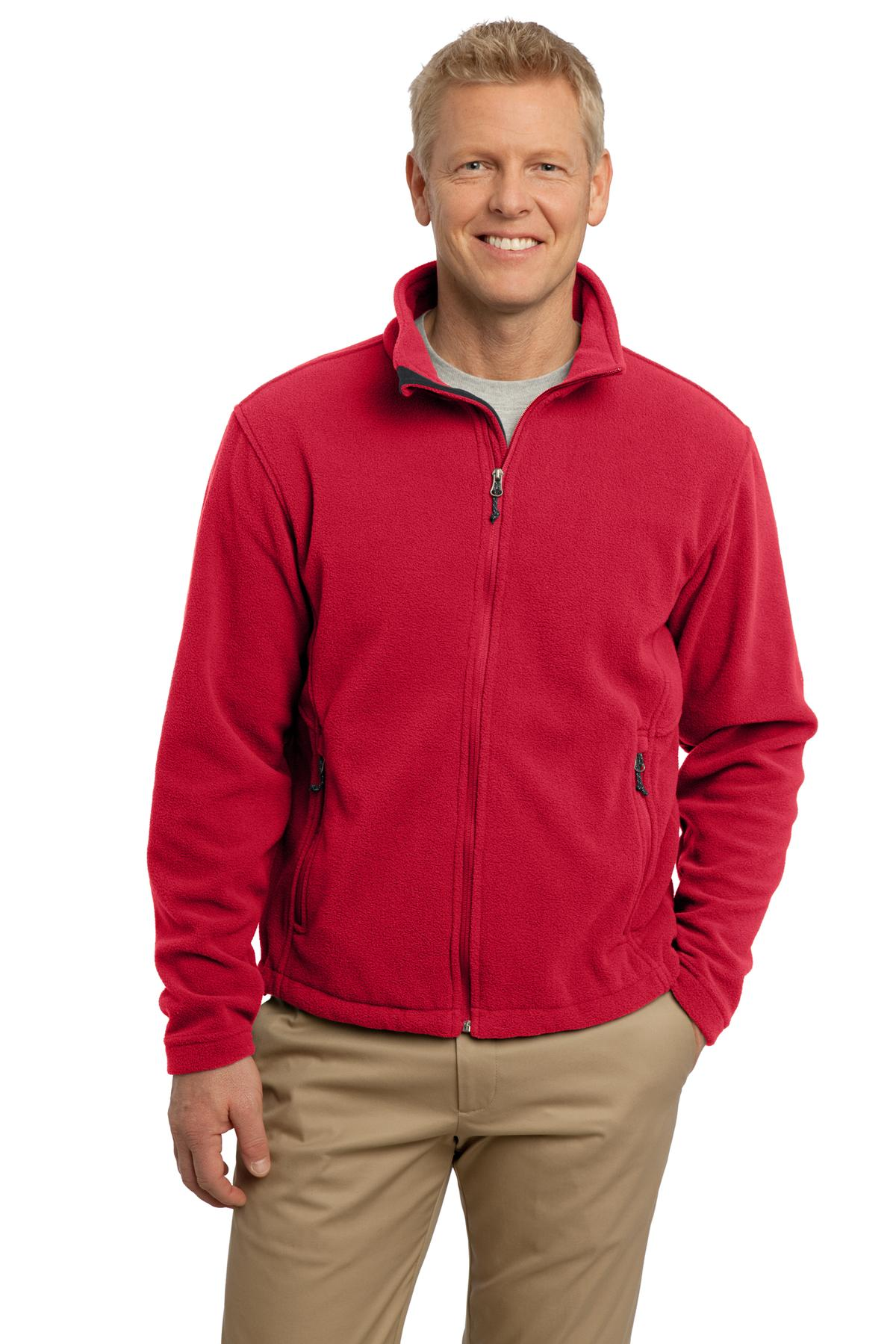 DISCONTINUED Port Authority Tall Value Fleece Jacket. TLF217