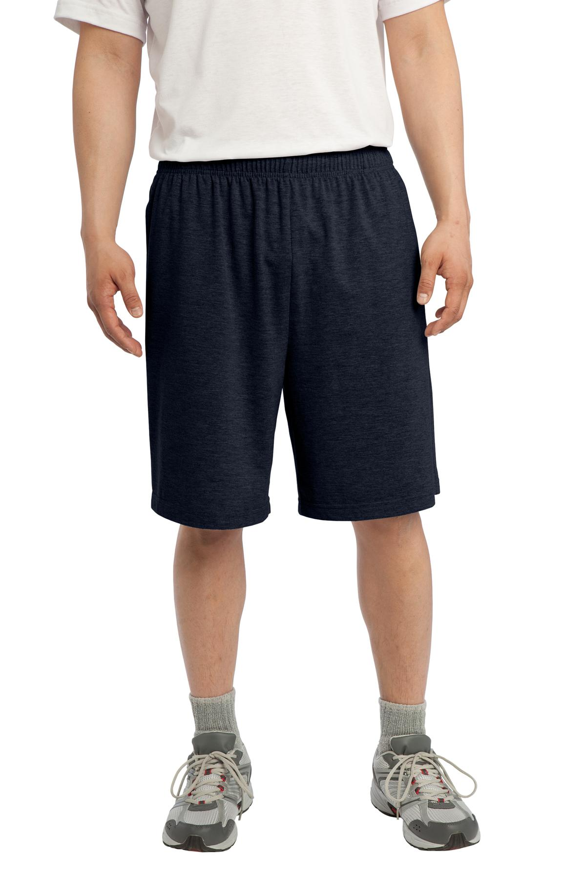 Sport-Tek ®  Jersey Knit Short with Pockets. ST310 - True Navy