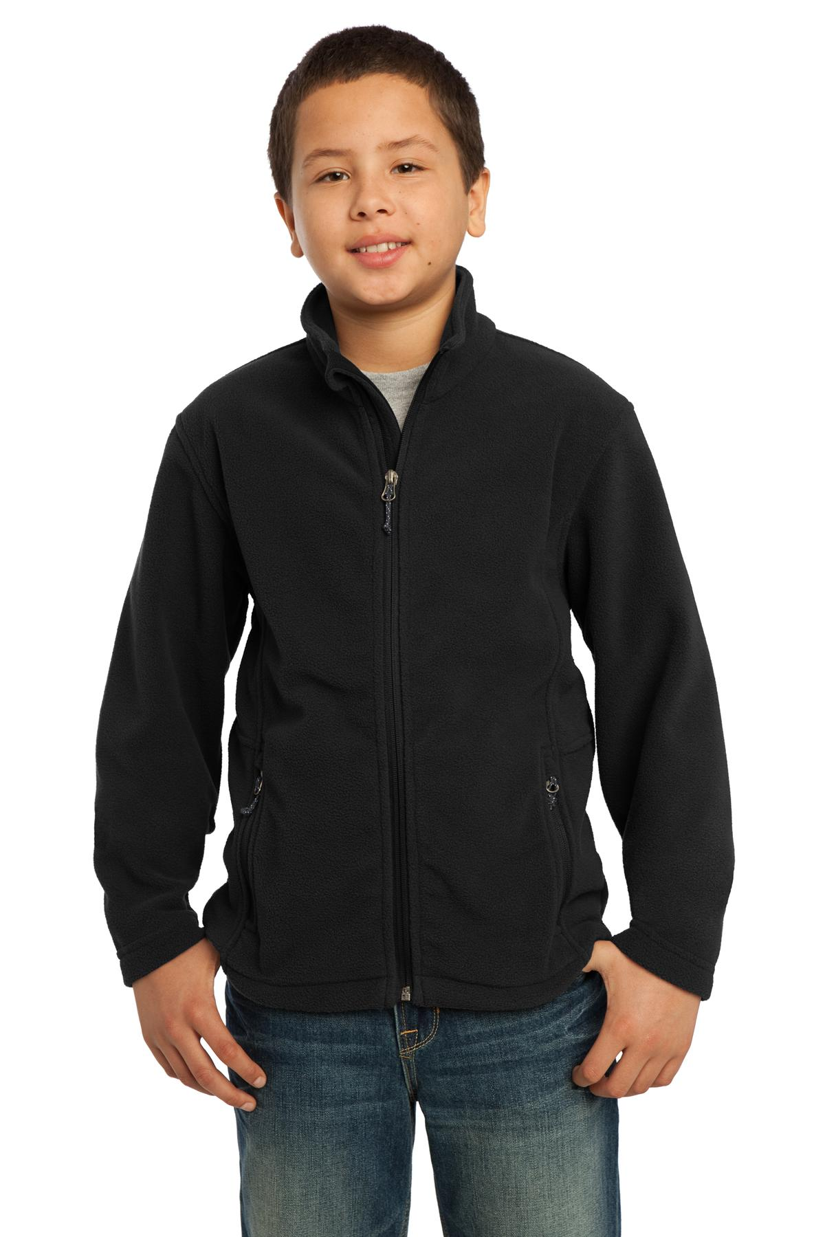 Port Authority ®  Youth Value Fleece Jacket. Y217 - Black