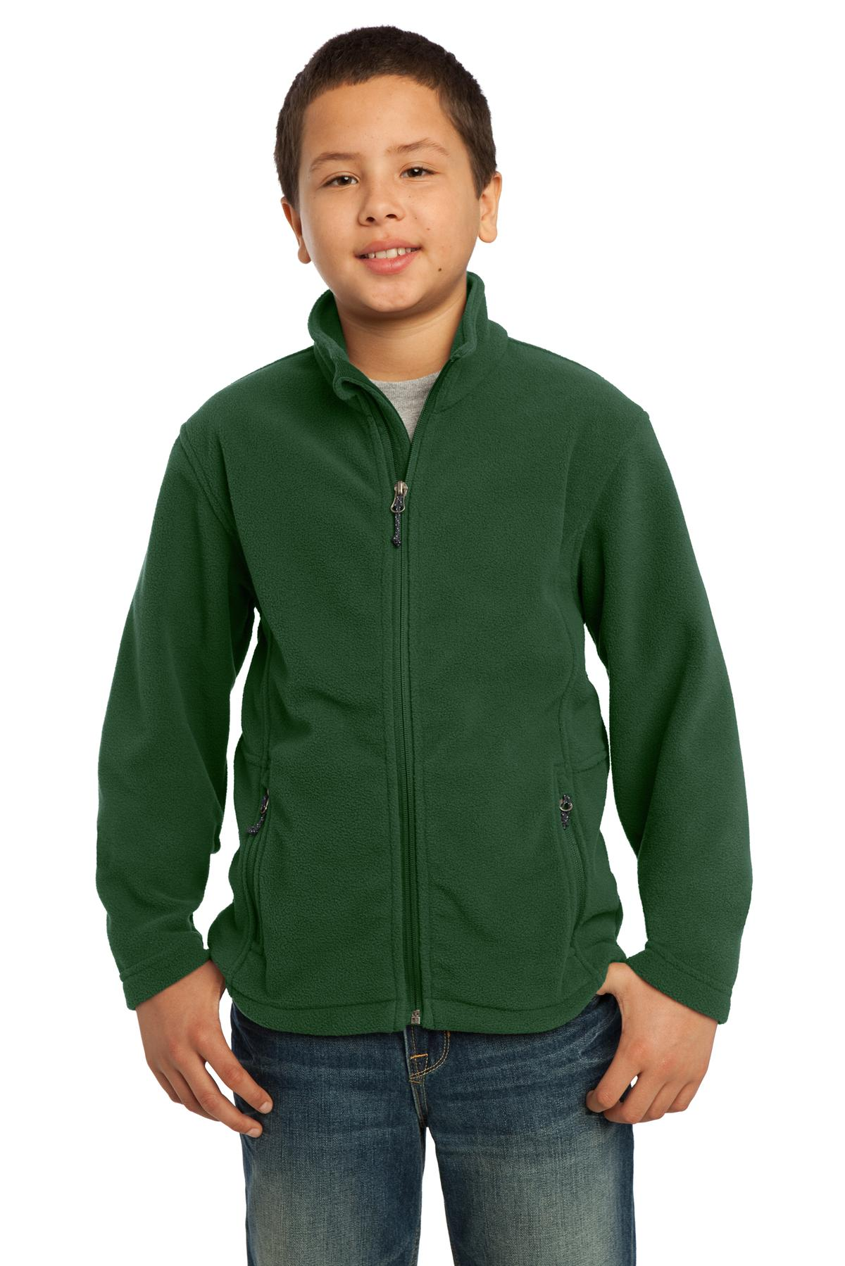 Port Authority ®  Youth Value Fleece Jacket. Y217 - Forest Green