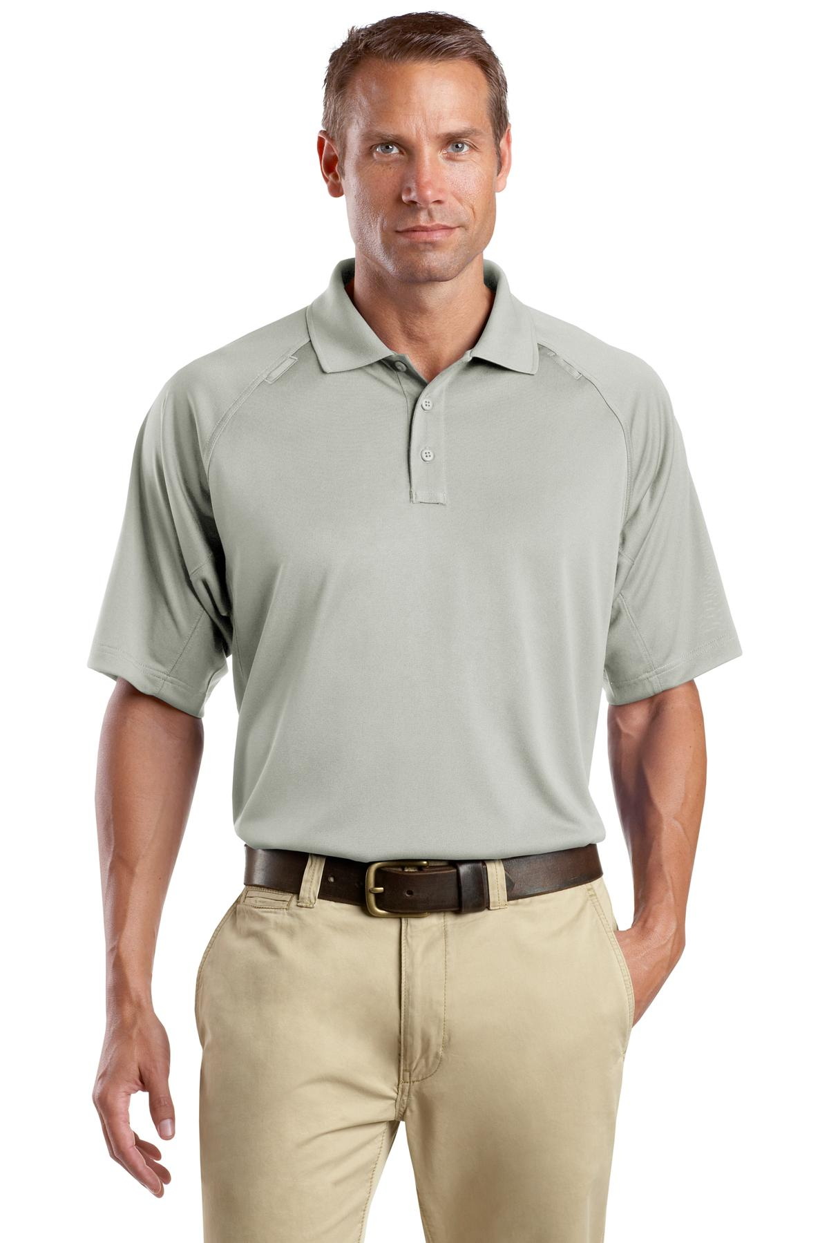 CornerStone ®  - Select Snag-Proof Tactical Polo. CS410 - Light Grey