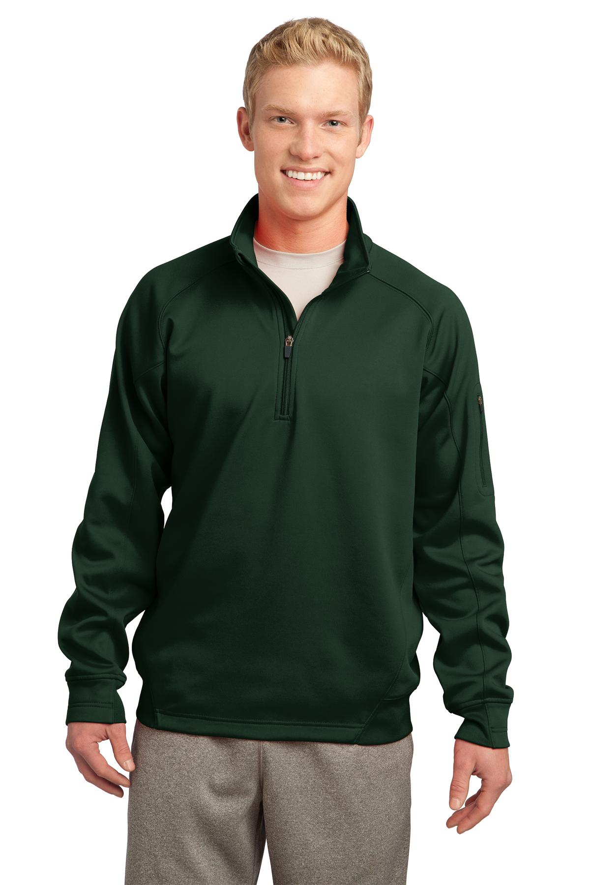 Sport-Tek ®  Tech Fleece 1/4-Zip Pullover. F247 - Forest Green