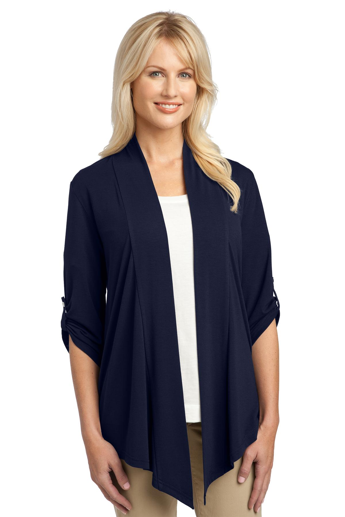 Port Authority ®  Ladies Concept Shrug. L543 - Dress Blue Navy