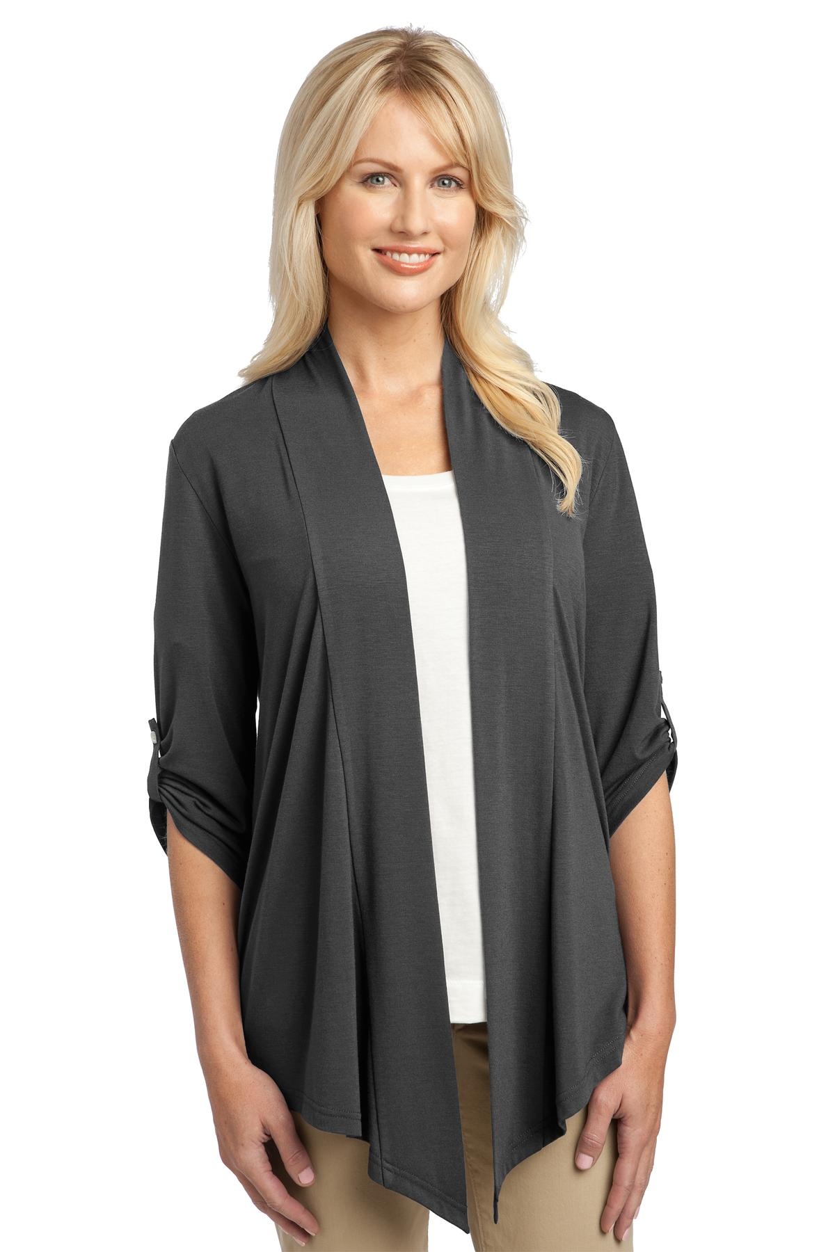 Port Authority ®  Ladies Concept Shrug. L543 - Grey Smoke