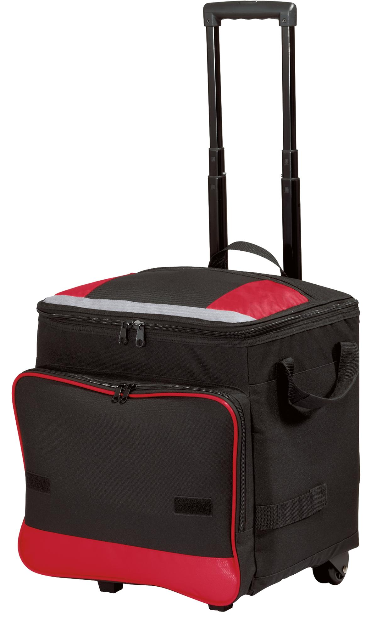 Port Authority ®  Rolling Cooler. BG119 - Red