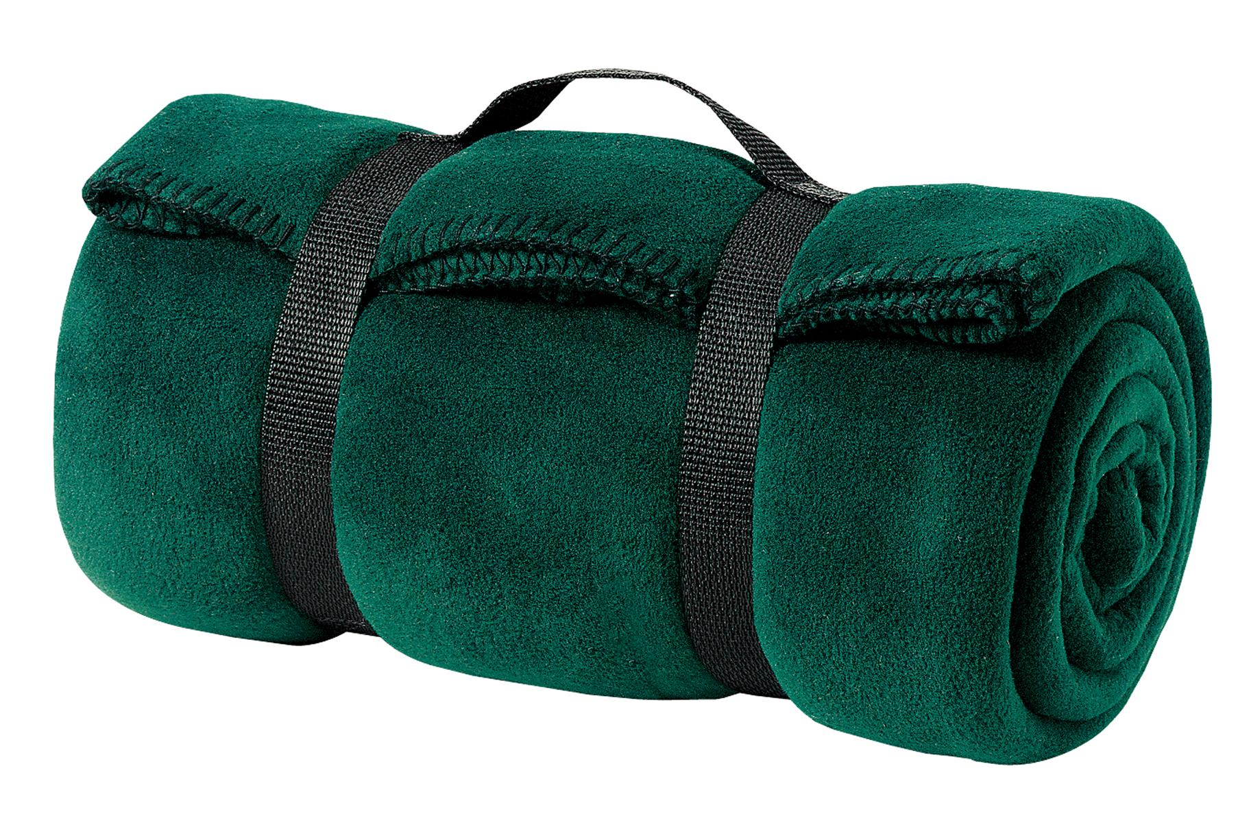 Port Authority ®  - Value Fleece Blanket with Strap.  BP10 - Dark Green
