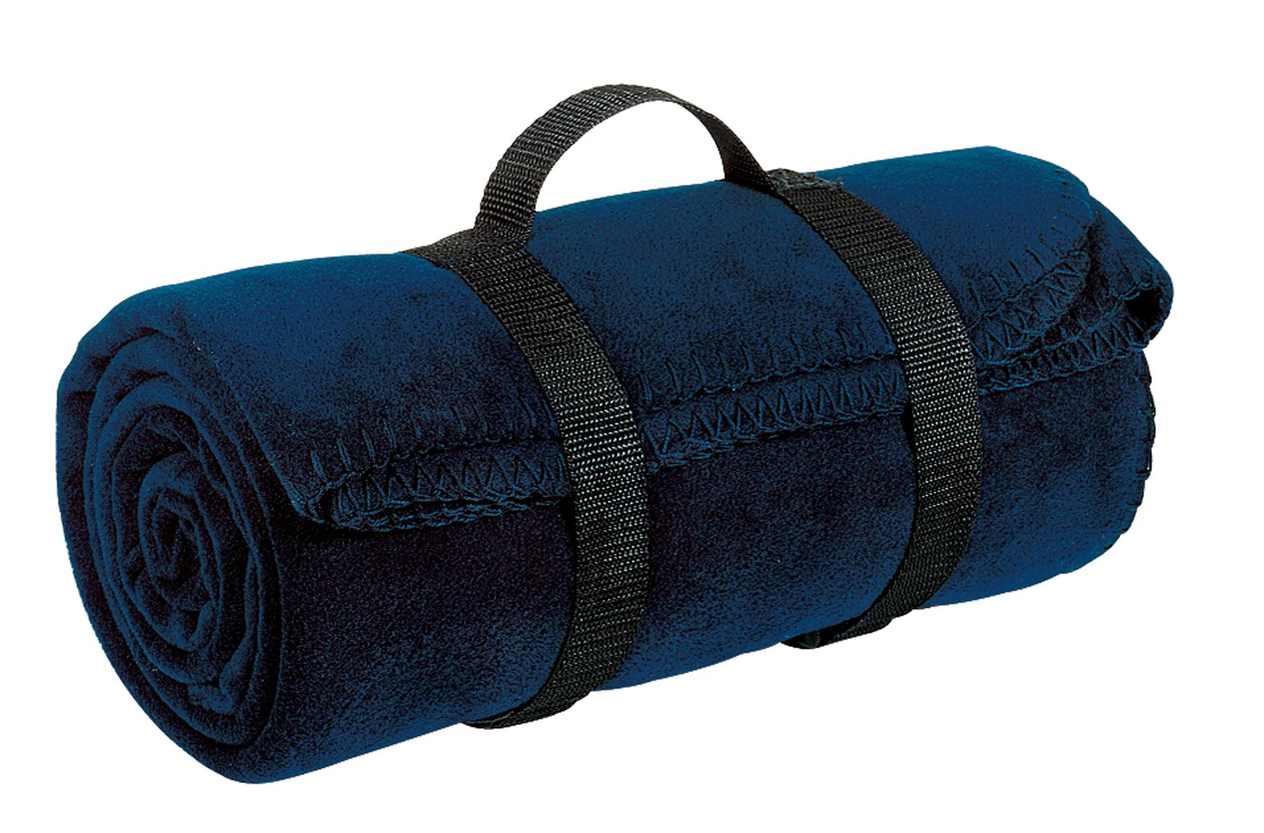 Port Authority ®  - Value Fleece Blanket with Strap.  BP10 - Navy