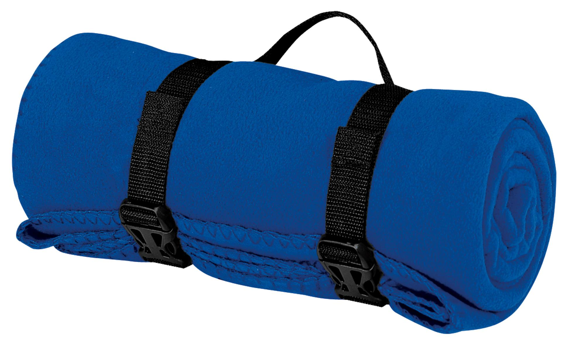 Port Authority ®  - Value Fleece Blanket with Strap.  BP10 - Royal