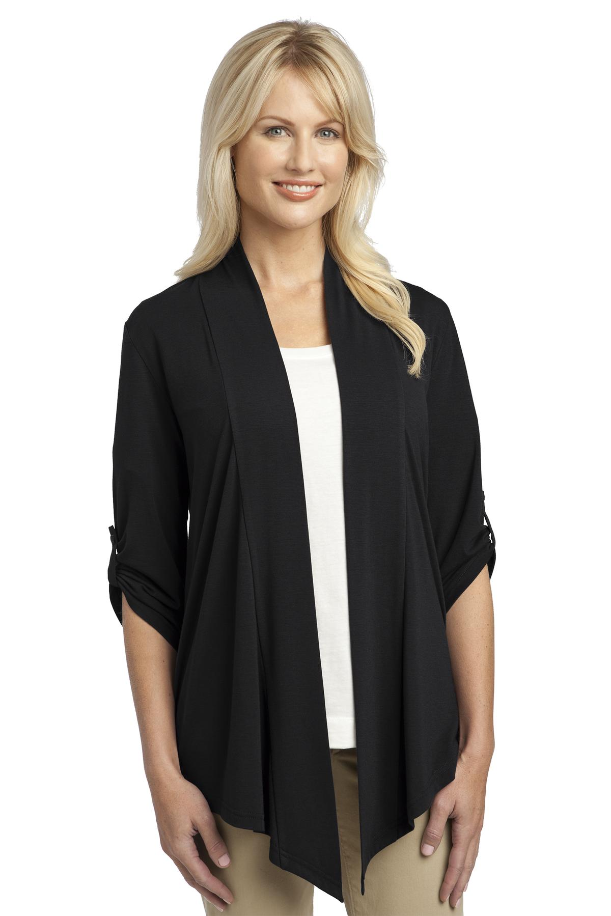 Port Authority ®  Ladies Concept Shrug. L543 - Black