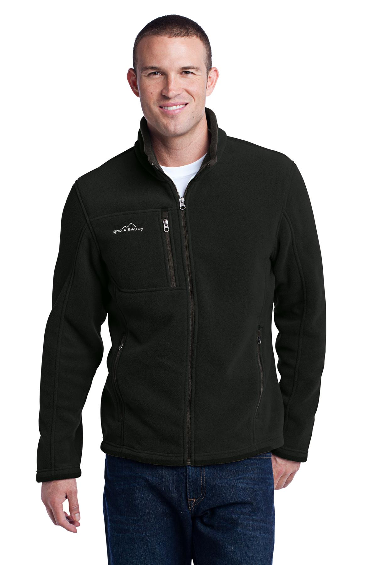 Eddie Bauer ®  - Full-Zip Fleece Jacket. EB200 - Black