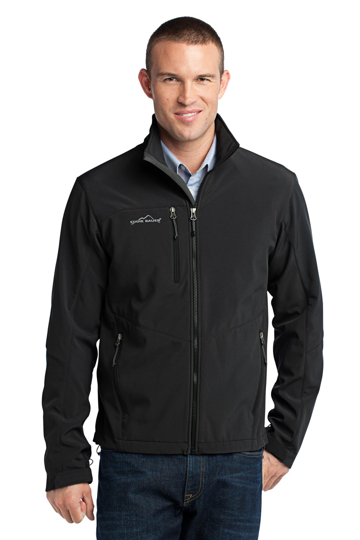 Eddie Bauer ®  - Soft Shell Jacket. EB530 - Black