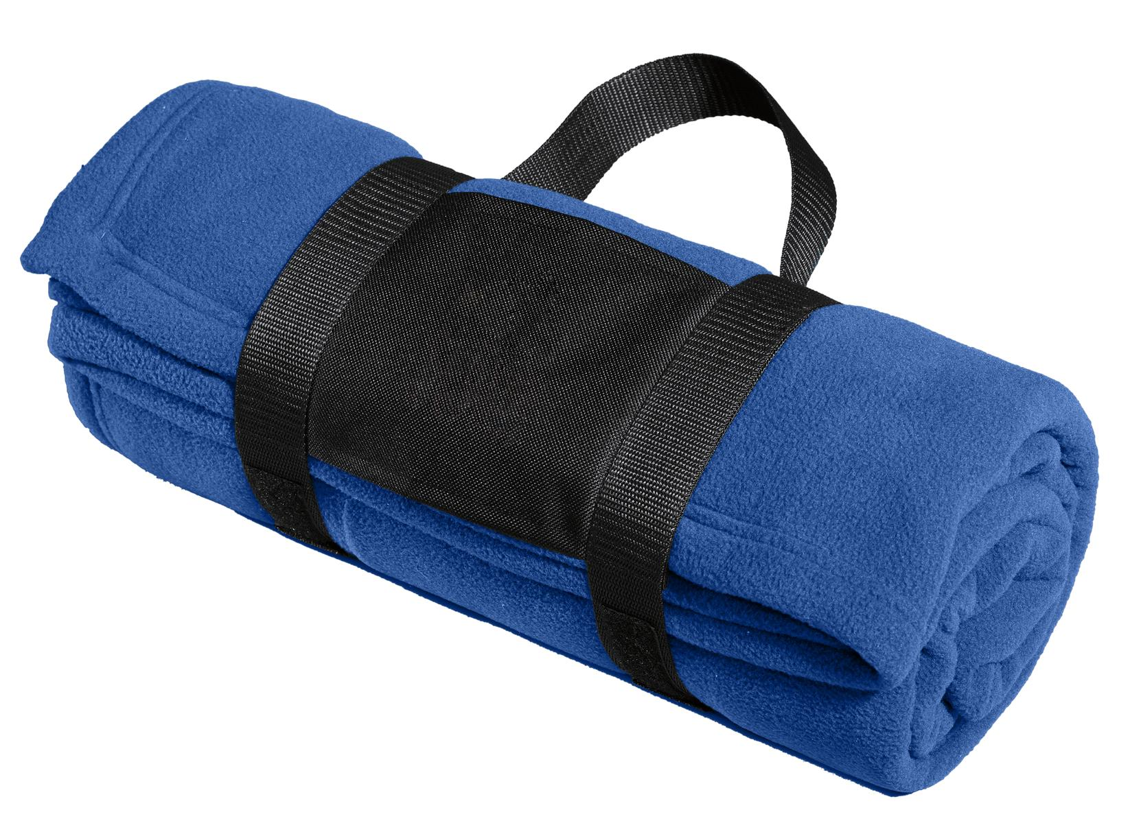 Port Authority ®  Fleece Blanket with Carrying Strap. BP20 - True Royal