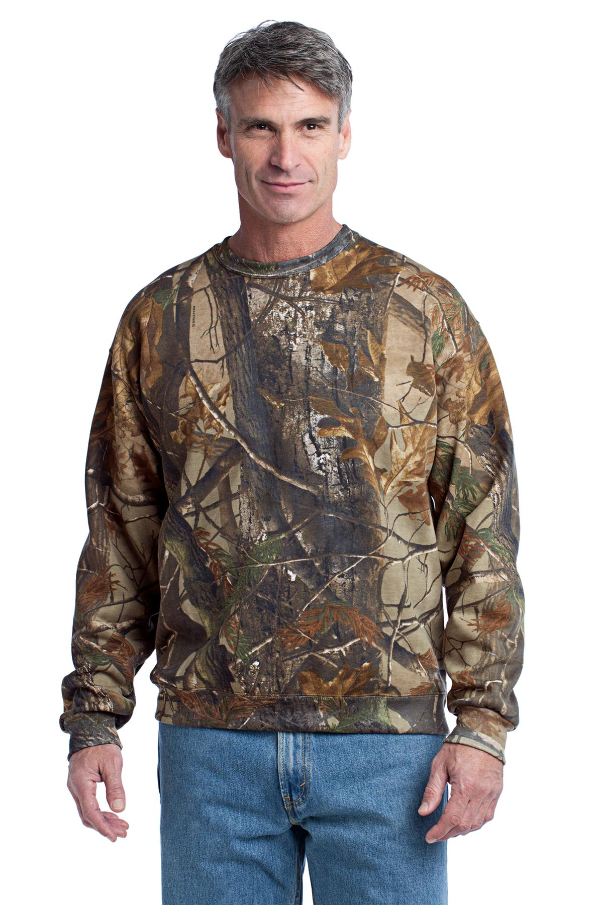 DISCONTINUED Russell Outdoors Realtree Crewneck Sweatshirt. S188R