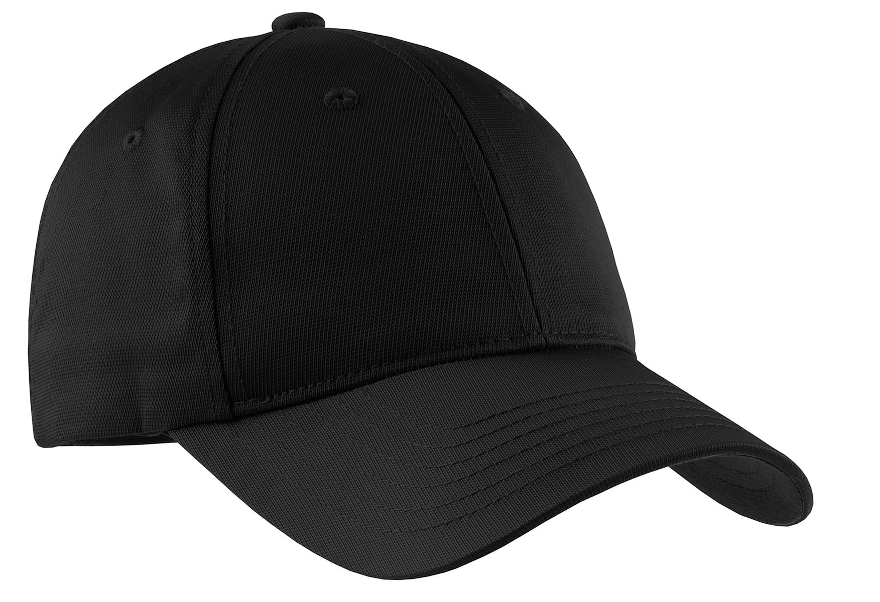 Sport-Tek ®  Youth Dry Zone ®  Nylon Cap. YSTC10 - Black