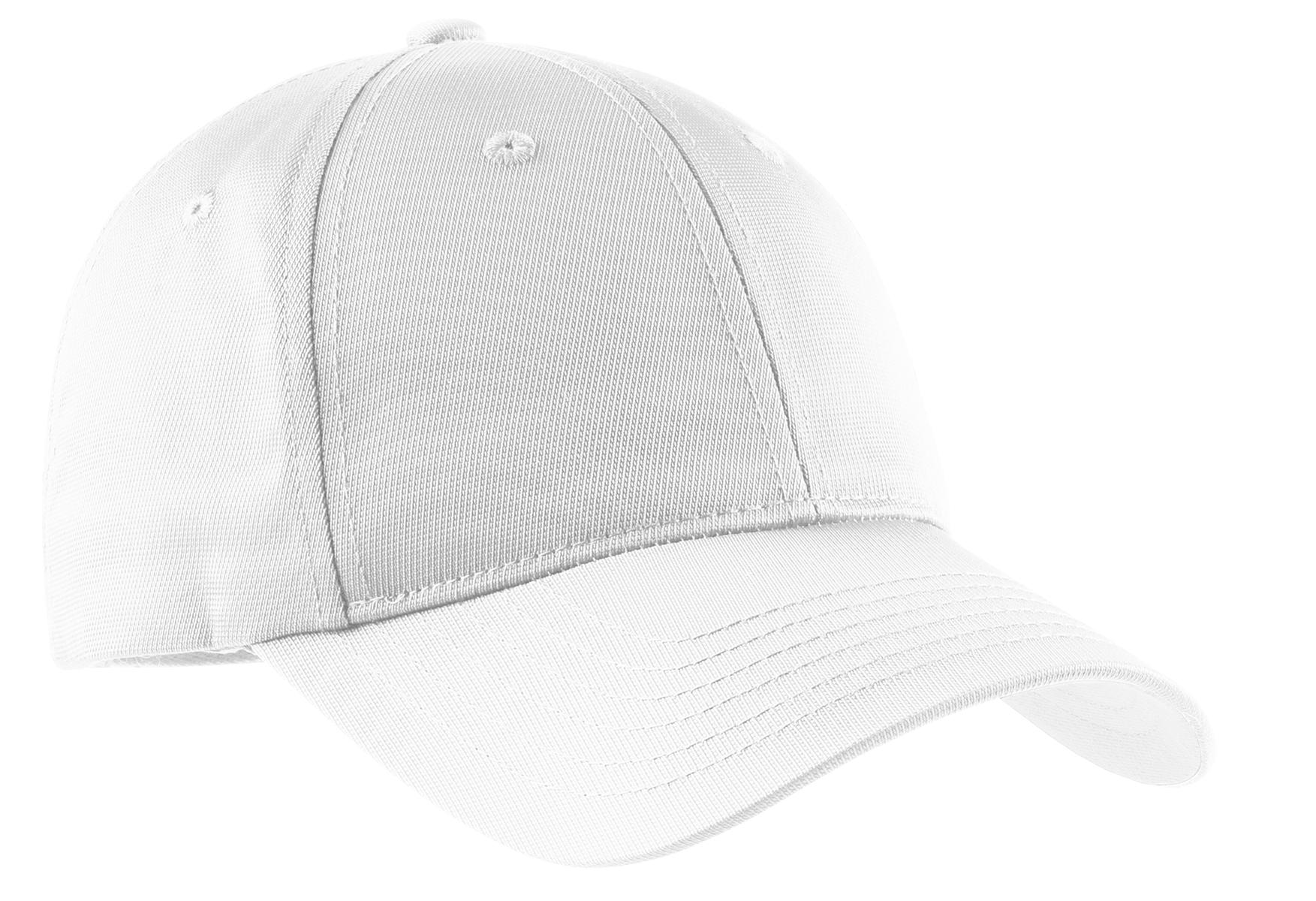 Sport-Tek ®  Youth Dry Zone ®  Nylon Cap. YSTC10 - White