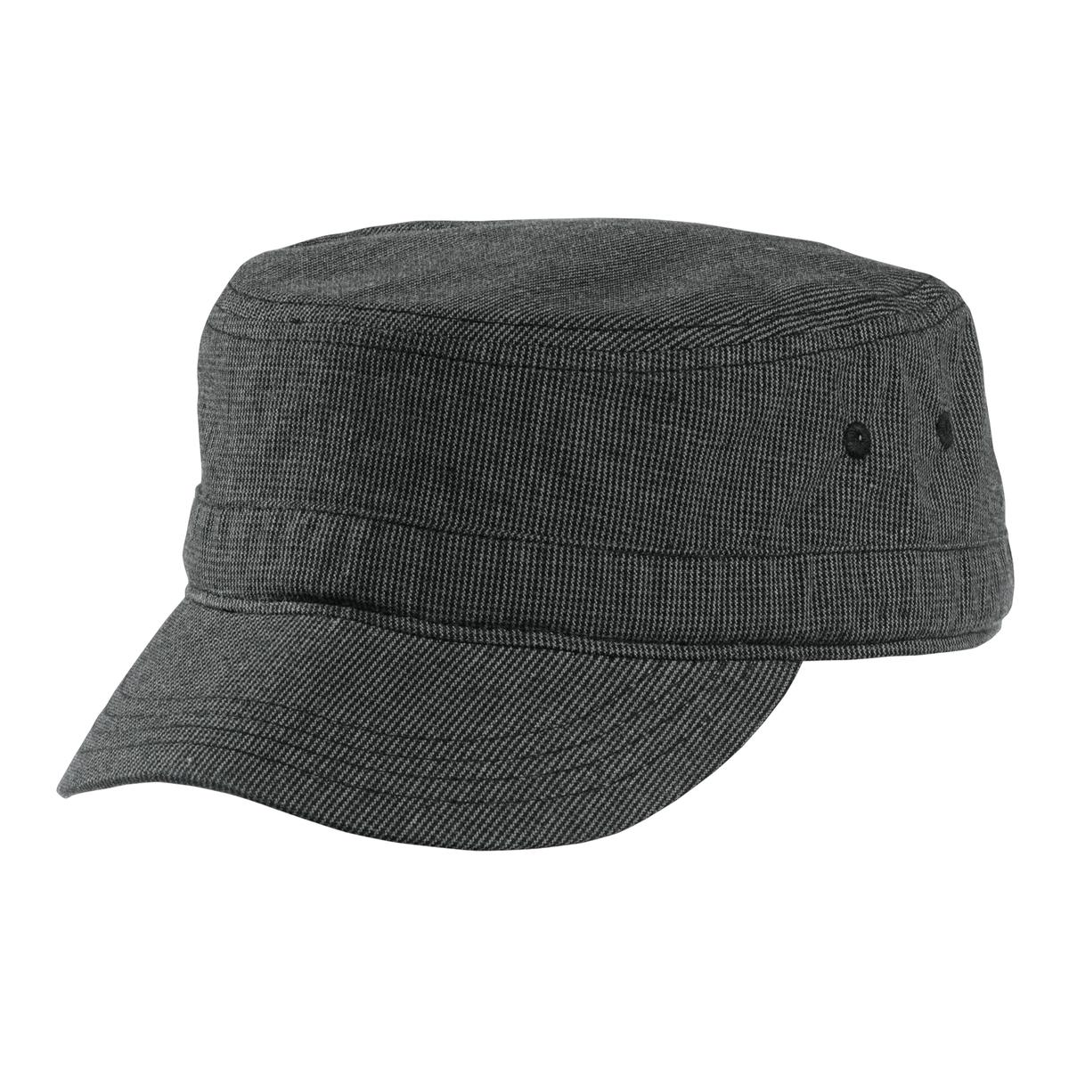 District Houndstooth Military Hat DT619