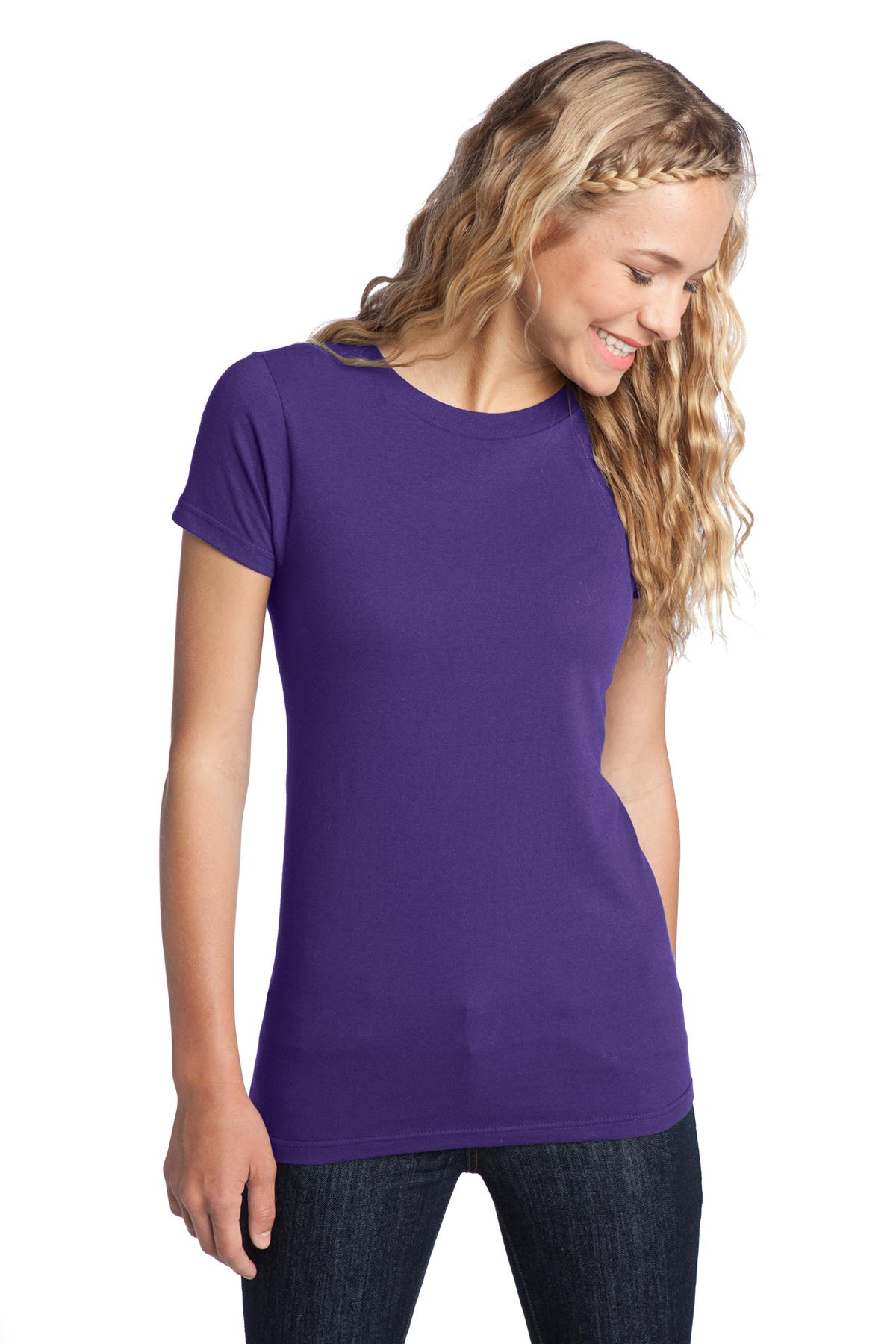 District ®  Women's Fitted The Concert Tee ®  DT5001 - Purple