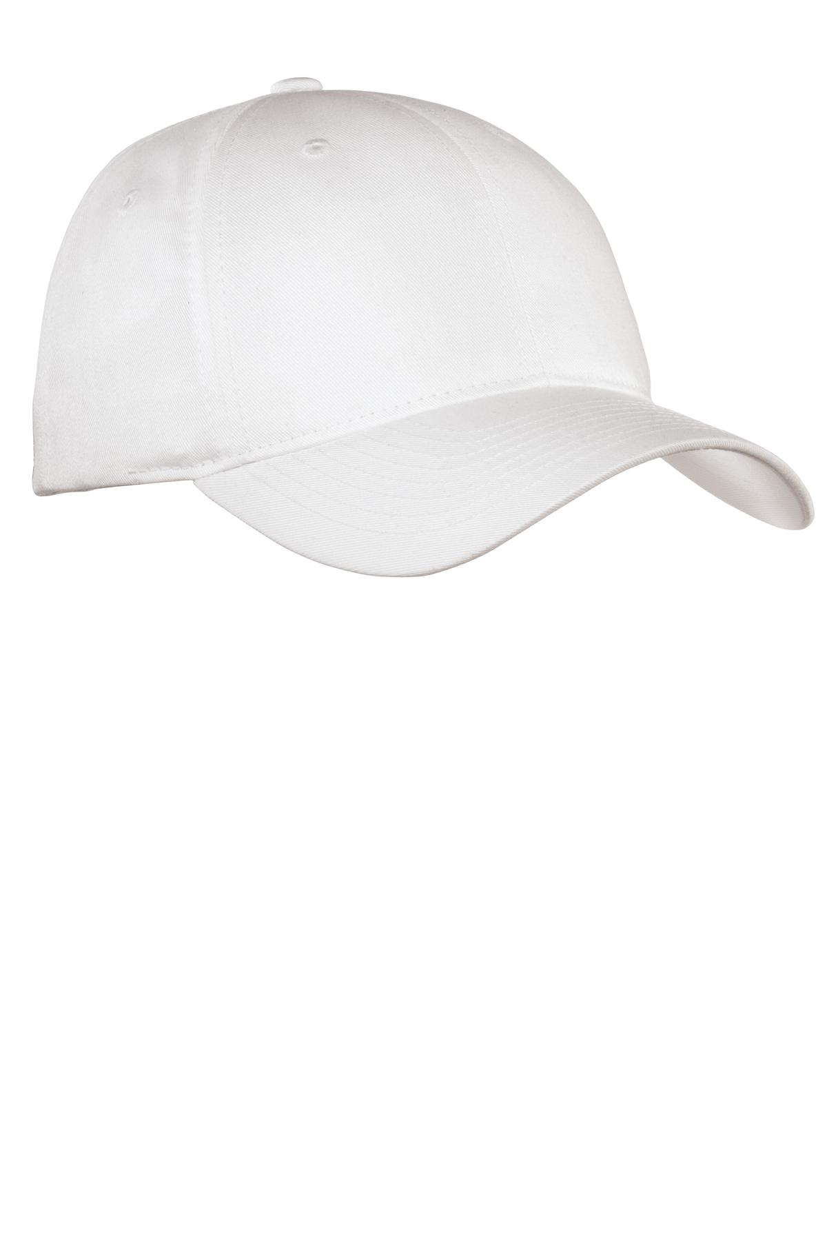 Port Authority ®  Fine Twill Cap.  C800 - White
