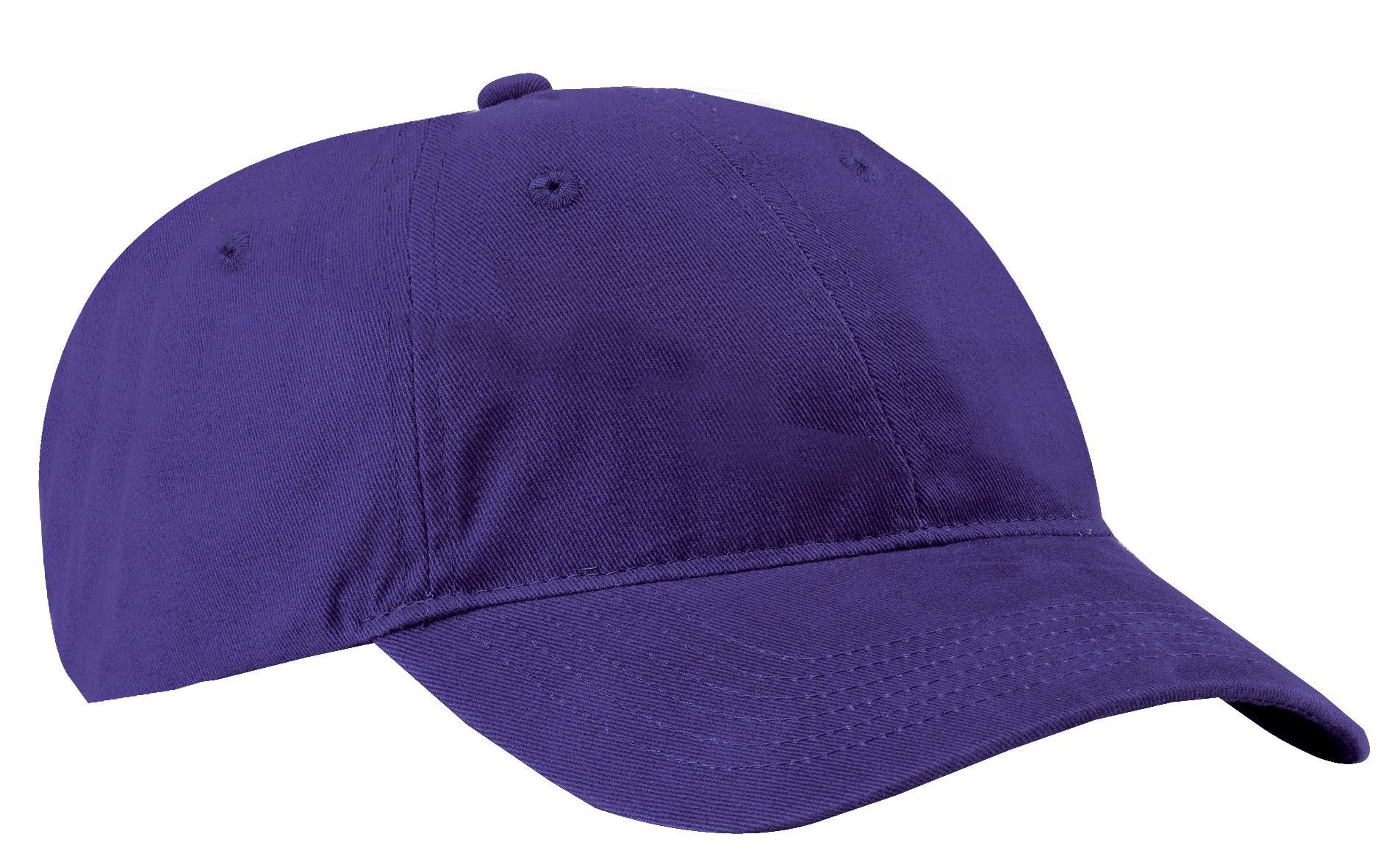 Port & Company ®  Brushed Twill Low Profile Cap.  CP77 - Purple