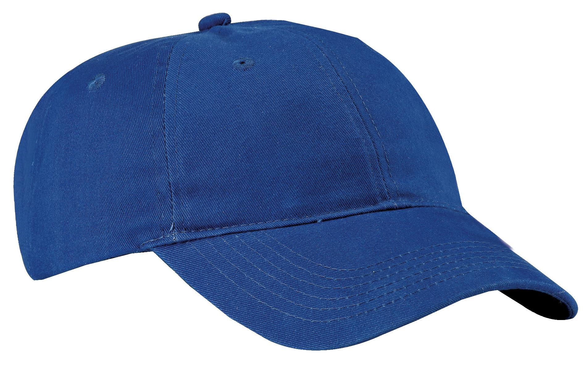 Port & Company ®  Brushed Twill Low Profile Cap.  CP77 - Royal