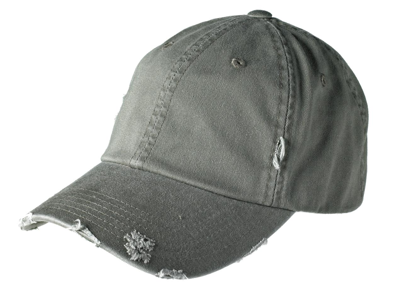 District ®  Distressed Cap. DT600 - Light Olive