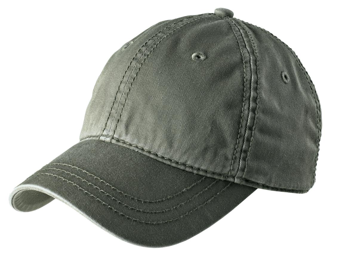 District ®   Thick Stitch Cap. DT610 - Light Olive