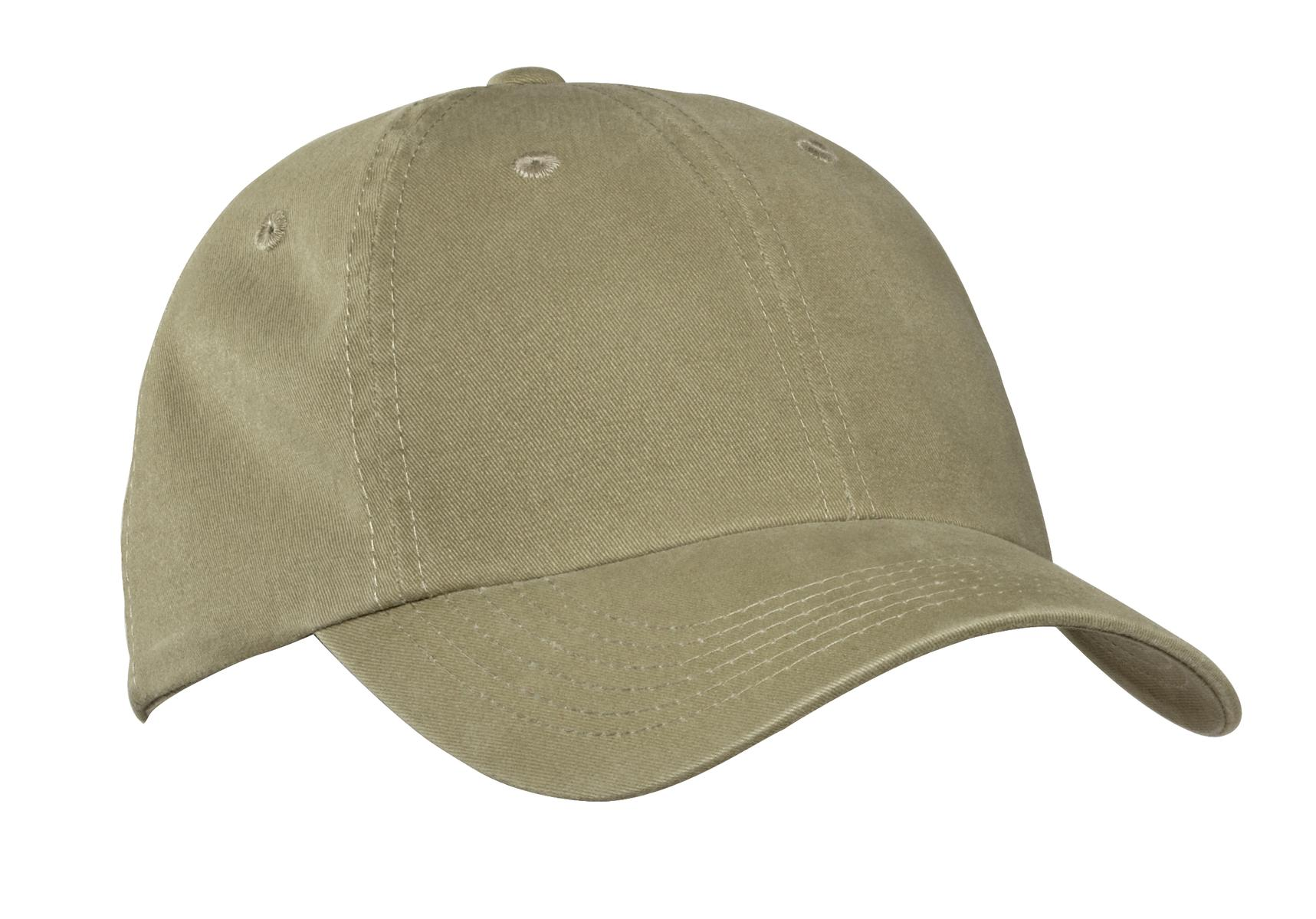 Port Authority ®  Garment-Washed Cap.  PWU - Khaki