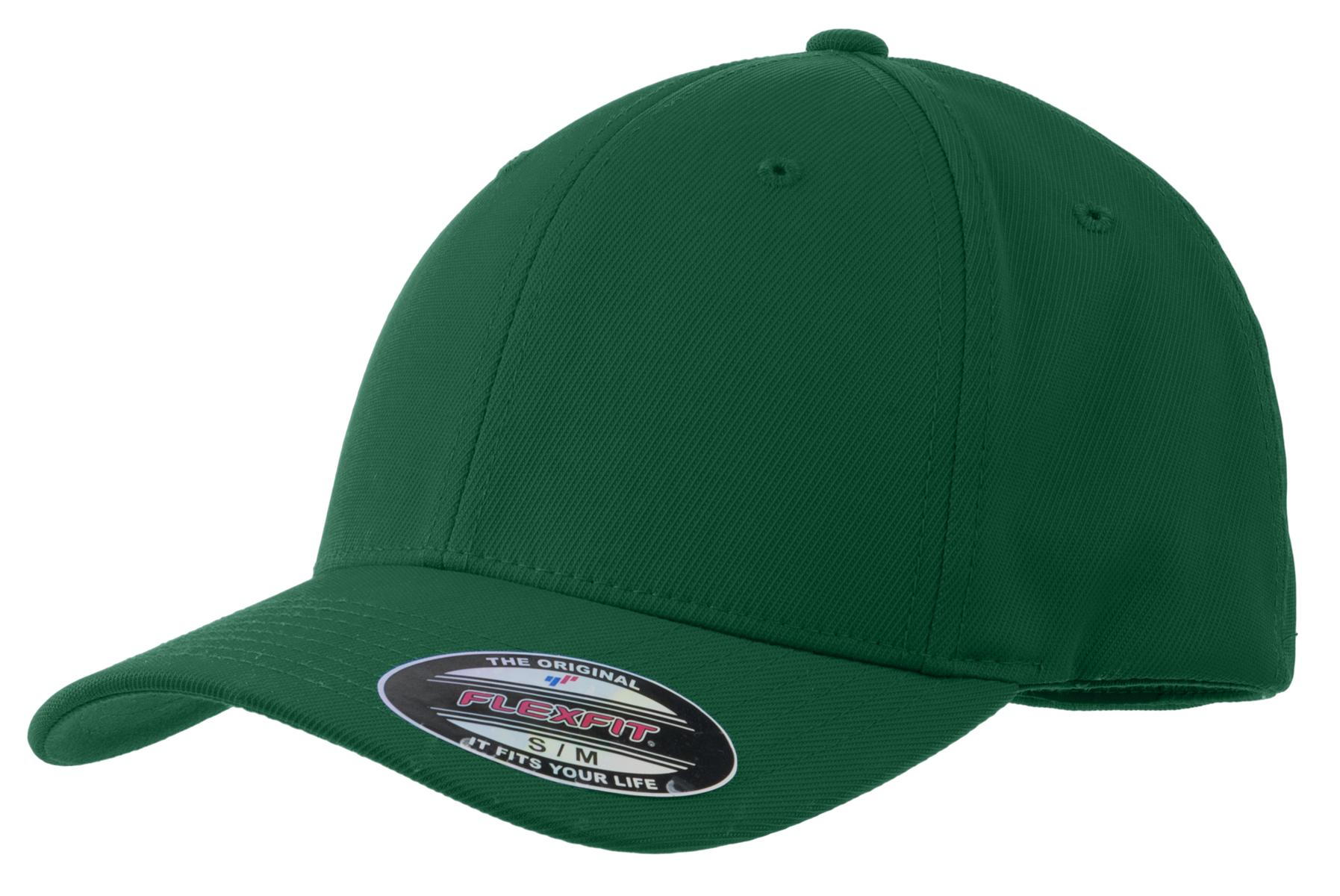 Sport-Tek ®  Flexfit ®  Performance Solid Cap. STC17 - Forest Green