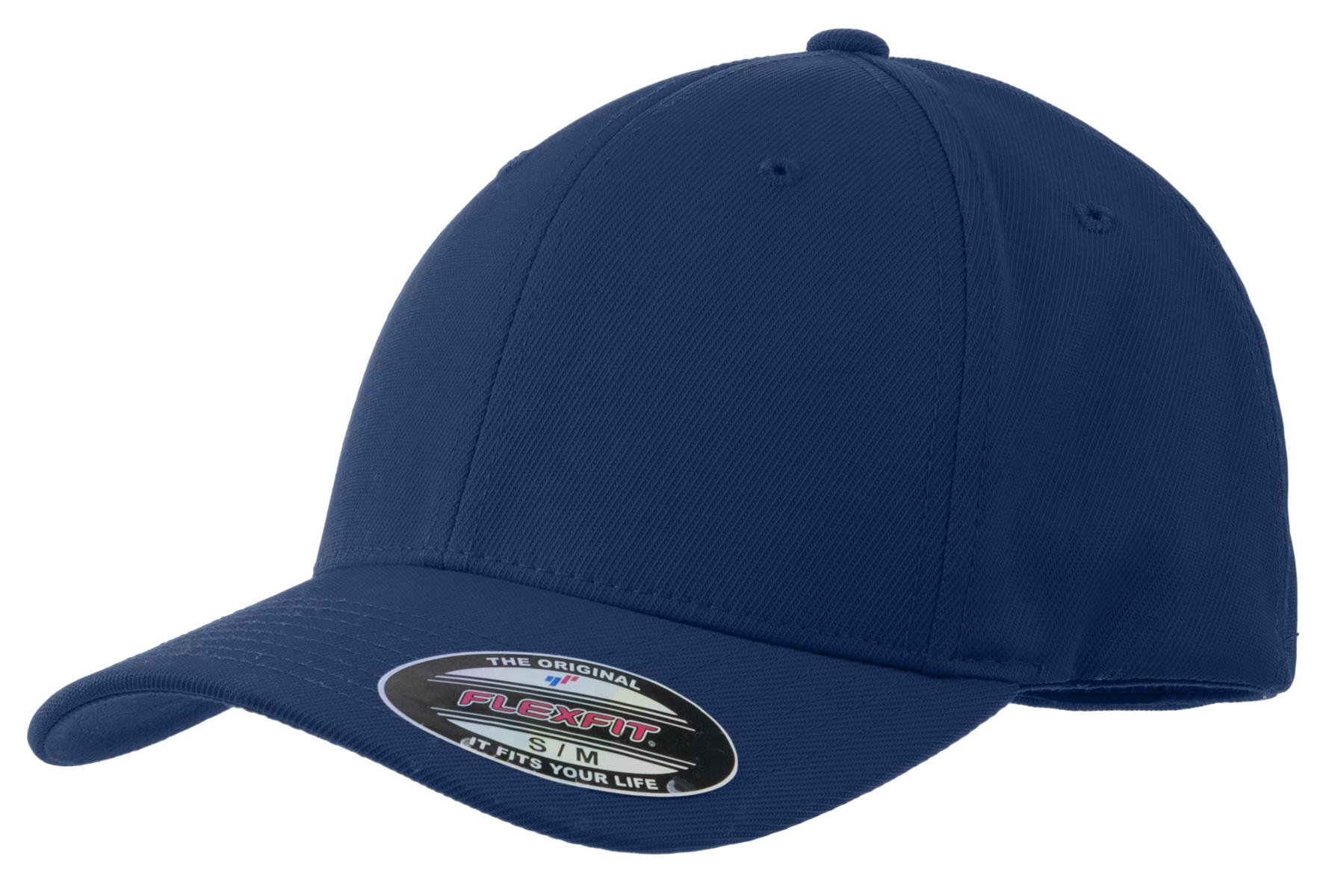 Sport-Tek ®  Flexfit ®  Performance Solid Cap. STC17 - True Navy