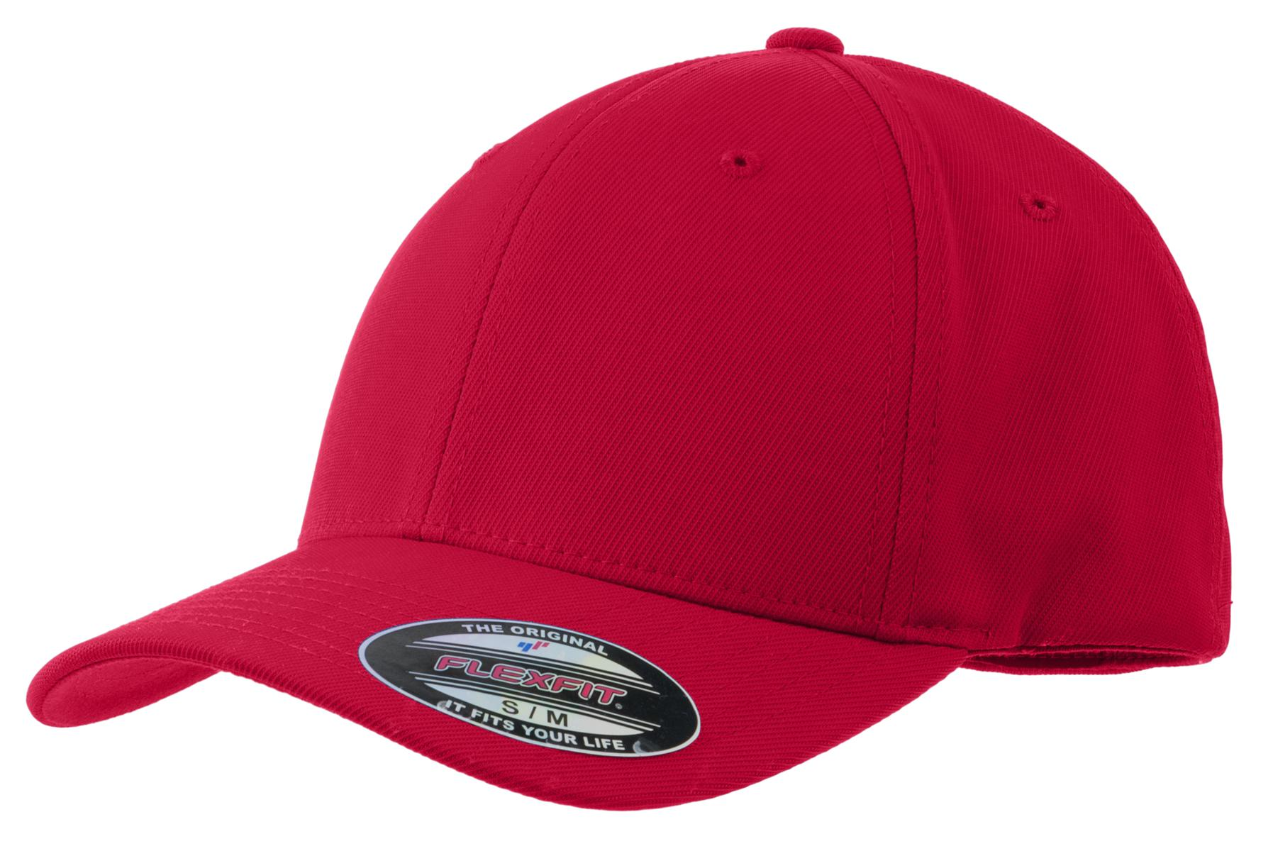 Sport-Tek ®  Flexfit ®  Performance Solid Cap. STC17 - True Red