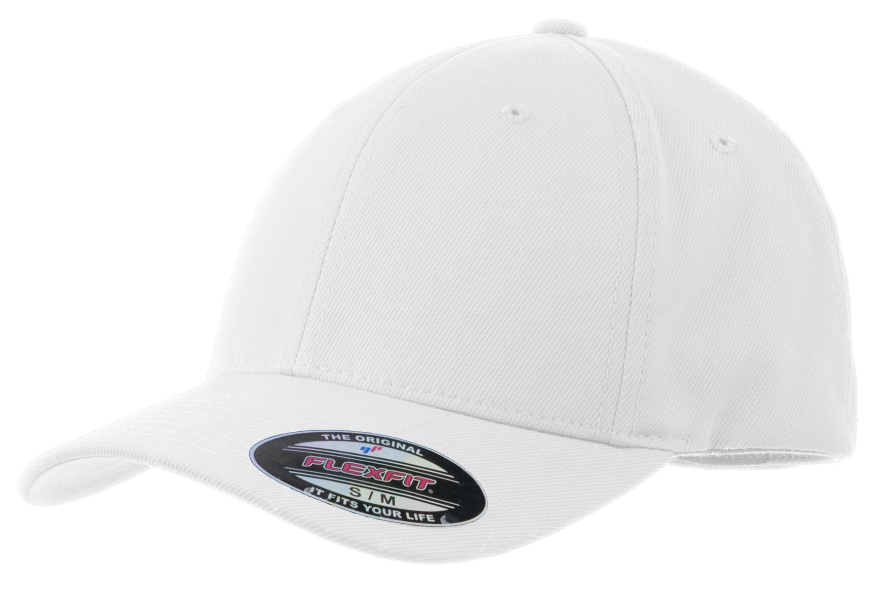 Sport-Tek ®  Flexfit ®  Performance Solid Cap. STC17 - White