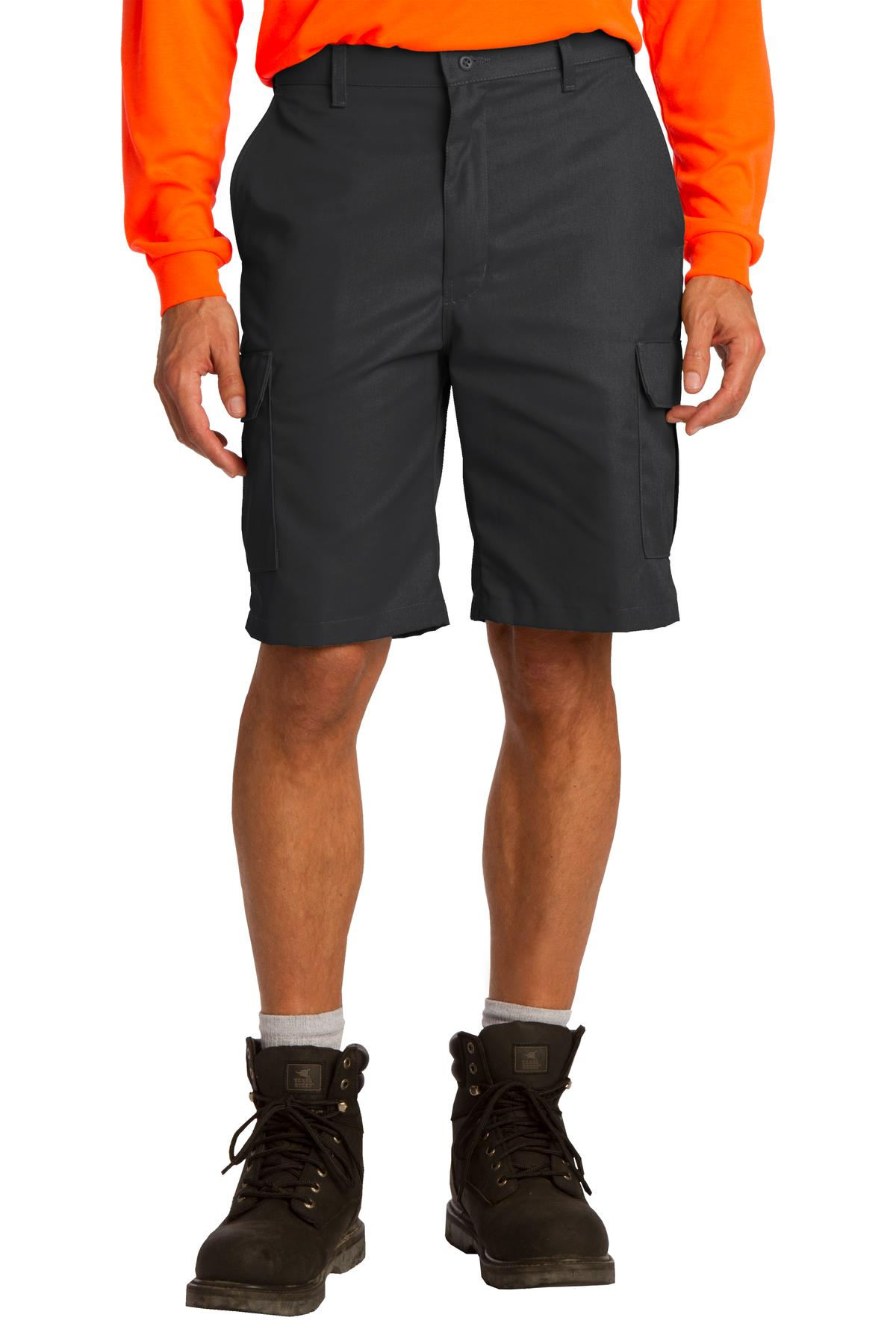 Red Kap ®  Industrial Cargo Short. PT66 - Black