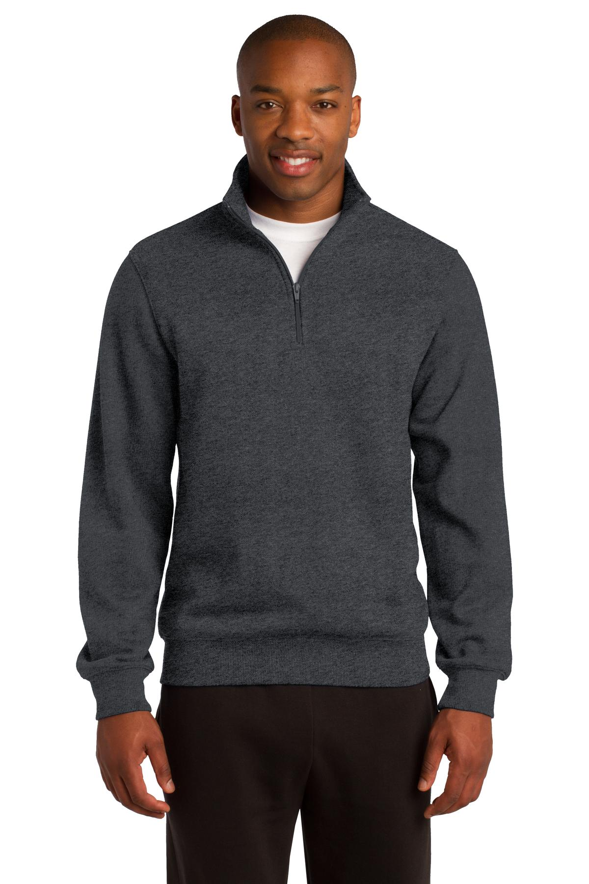 Sport-Tek ®  1/4-Zip Sweatshirt. ST253 - Graphite Heather
