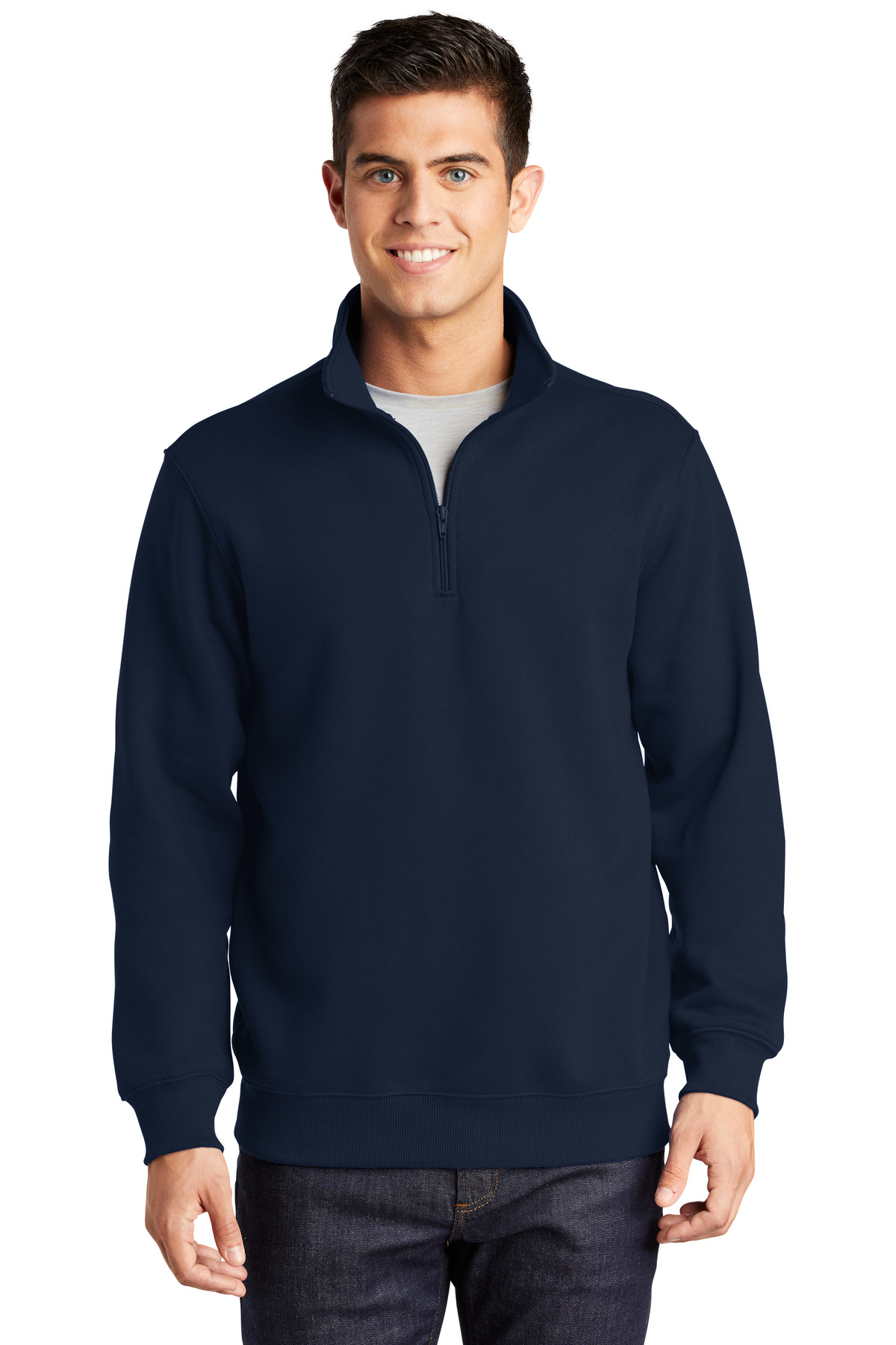 Sport-Tek ®  1/4-Zip Sweatshirt. ST253 - True Navy