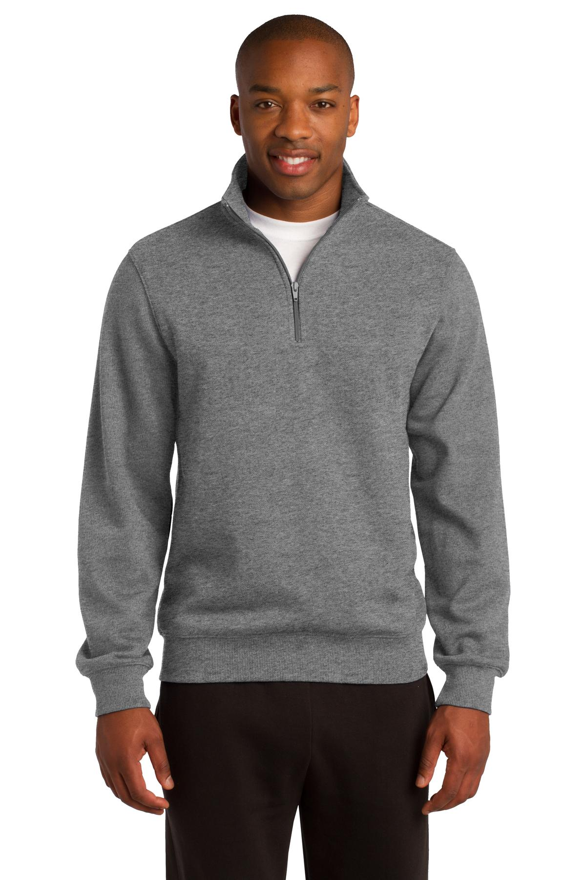 Sport-Tek ®  1/4-Zip Sweatshirt. ST253 - Vintage Heather