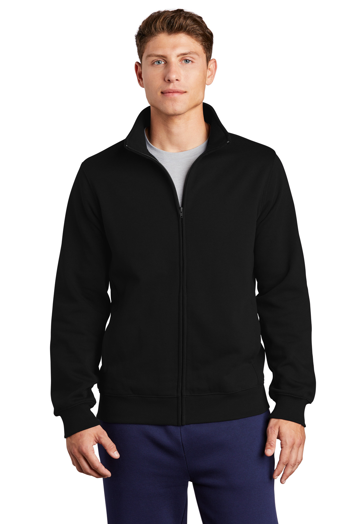 Sport-Tek ®  Full-Zip Sweatshirt. ST259 - Black
