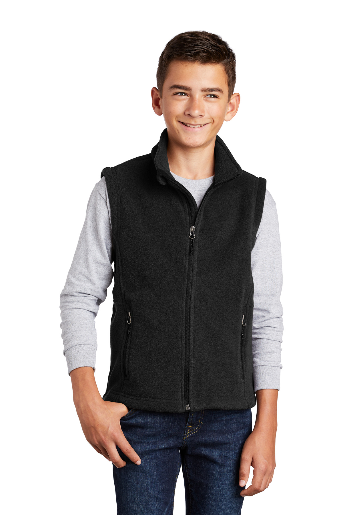 Port Authority ®  Youth Value Fleece Vest. Y219 - Black