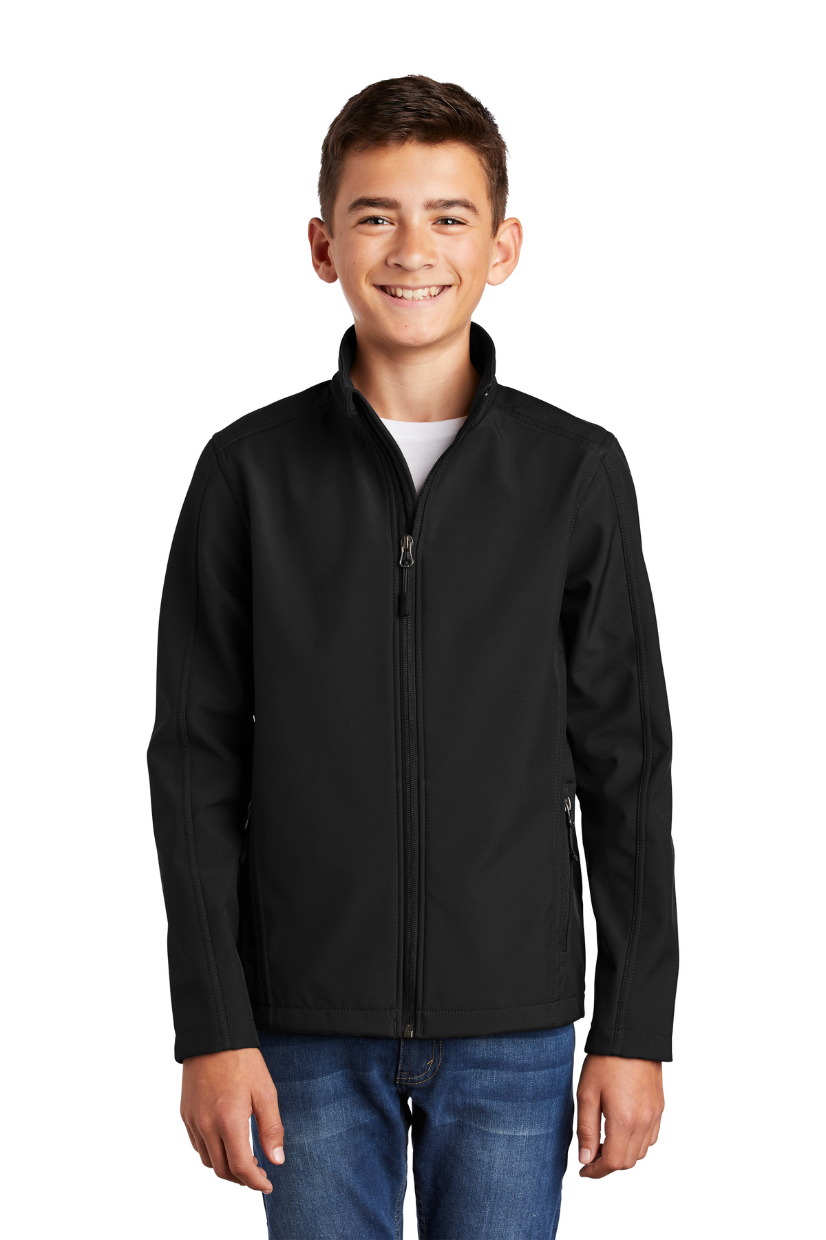 Port Authority ®  Youth Core Soft Shell Jacket. Y317 - Black