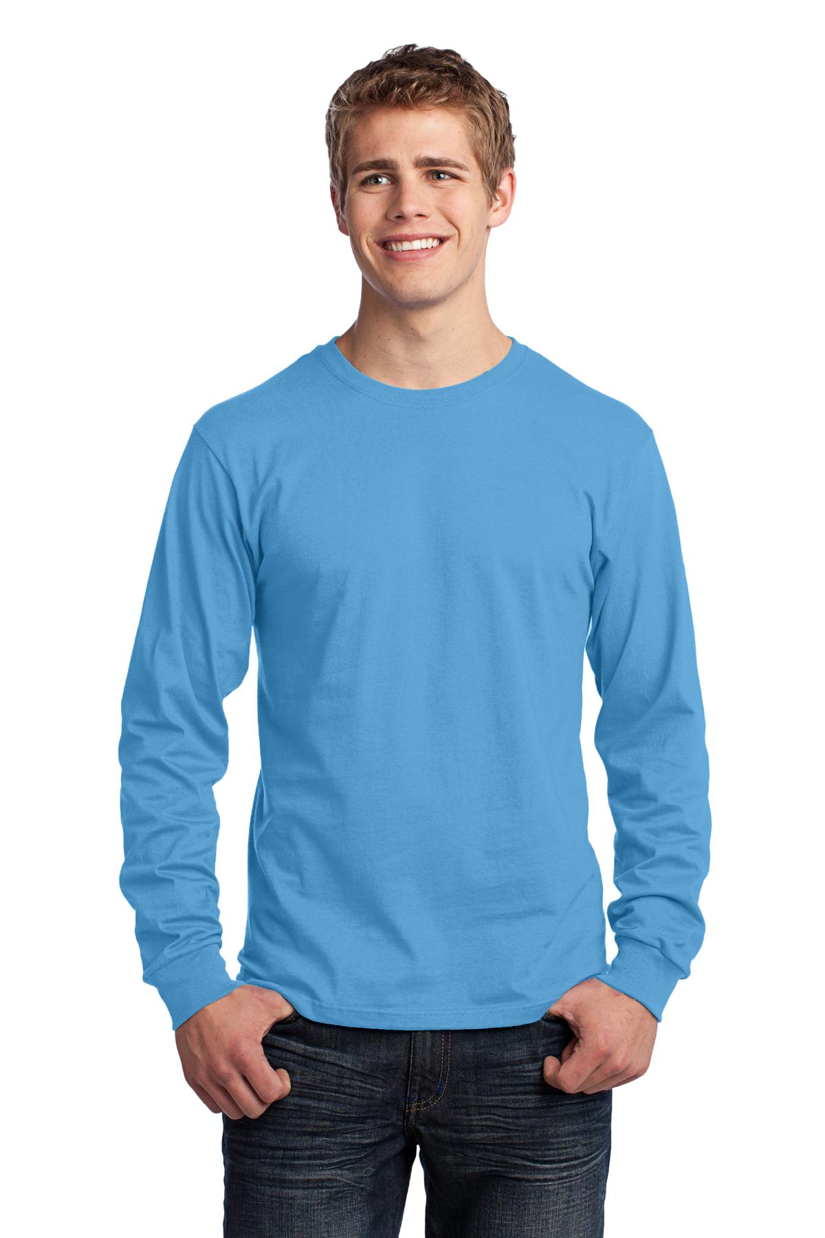 Port and Company - Long Sleeve Core Cotton Tee. PC54LS