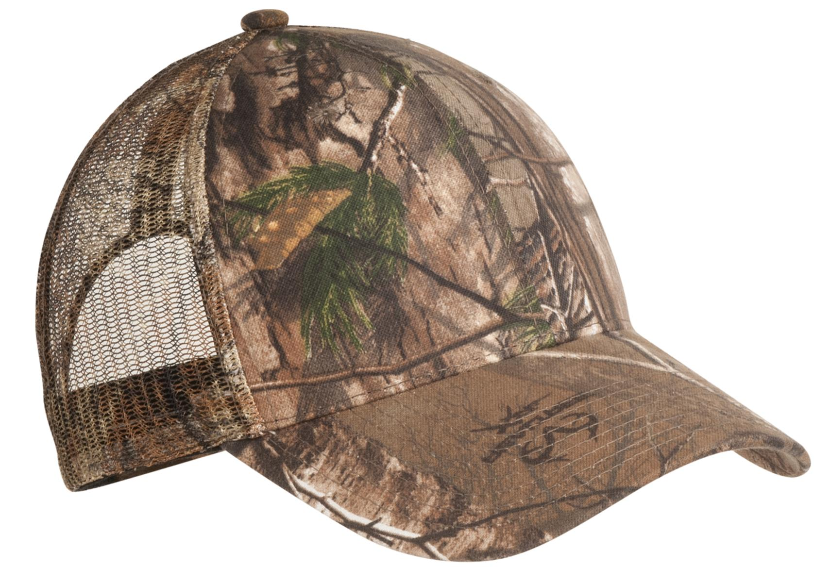 Port Authority ®  Pro Camouflage Series Cap with Mesh Back.  C869 - Realtree Xtra