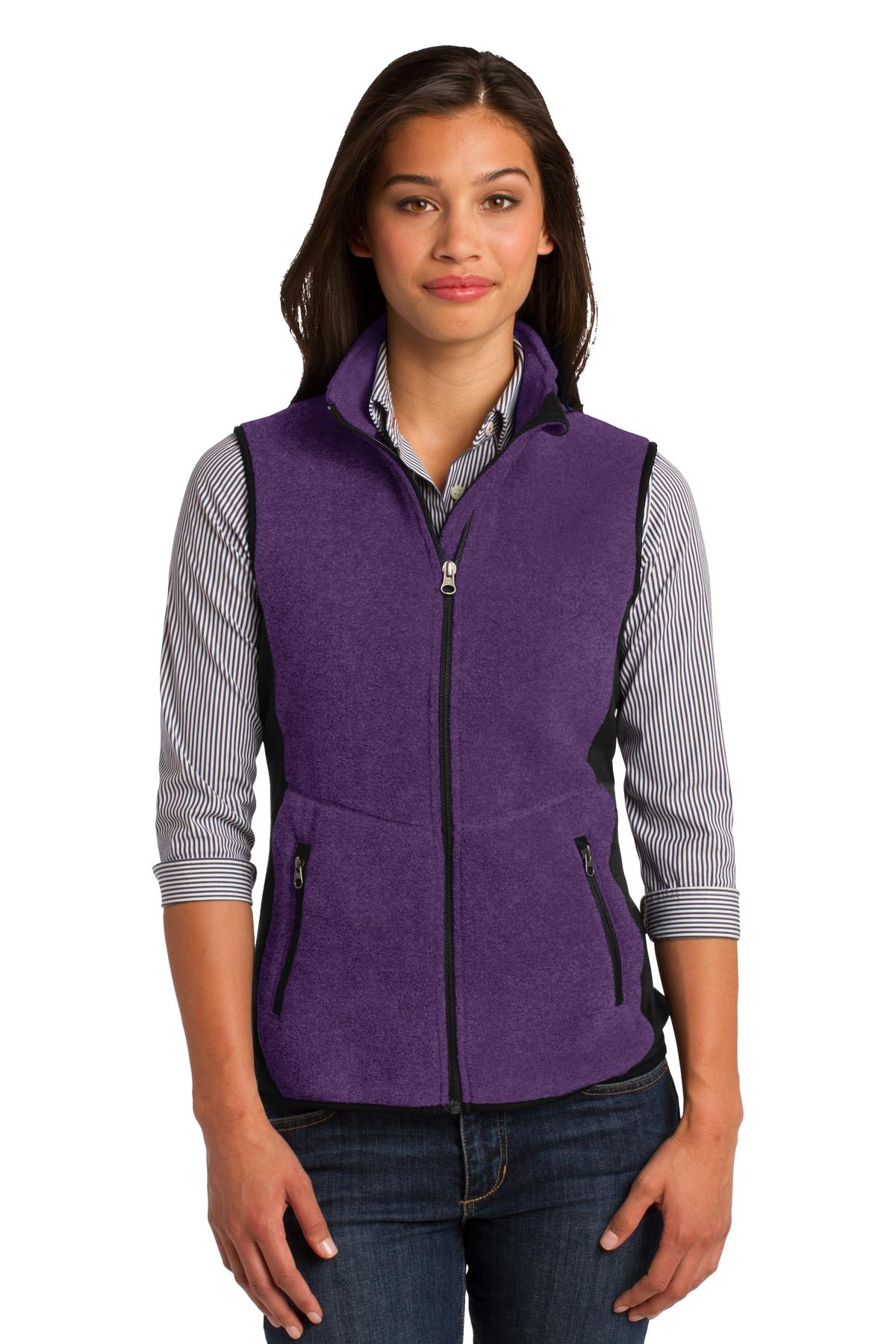 Port Authority Ladies R-Tek Pro Fleece Full-Zip Vest. L228