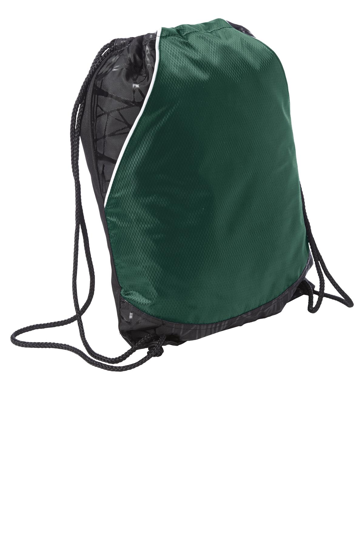 Sport-Tek ®  Rival Cinch Pack. BST600 - Forest Green