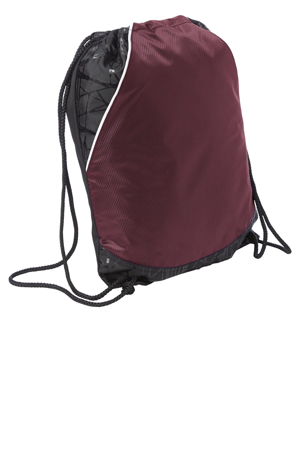 Sport-Tek ®  Rival Cinch Pack. BST600 - Maroon