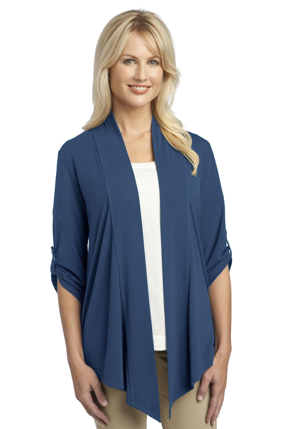 Port Authority ®  Ladies Concept Shrug. L543 - Moonlight Blue