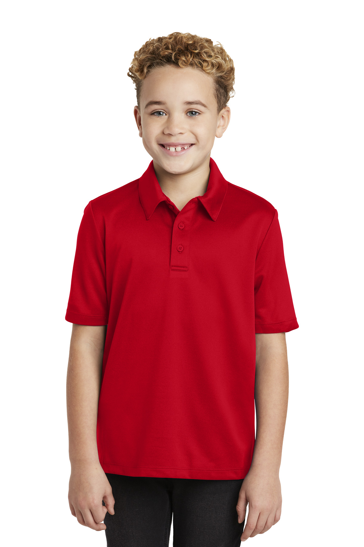 Port Authority ®  Youth Silk Touch™ Performance Polo. Y540 - Red