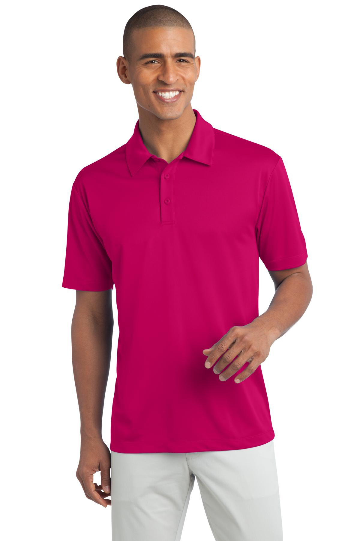 Port Authority ®  Silk Touch™ Performance Polo. K540 - Pink Raspberry