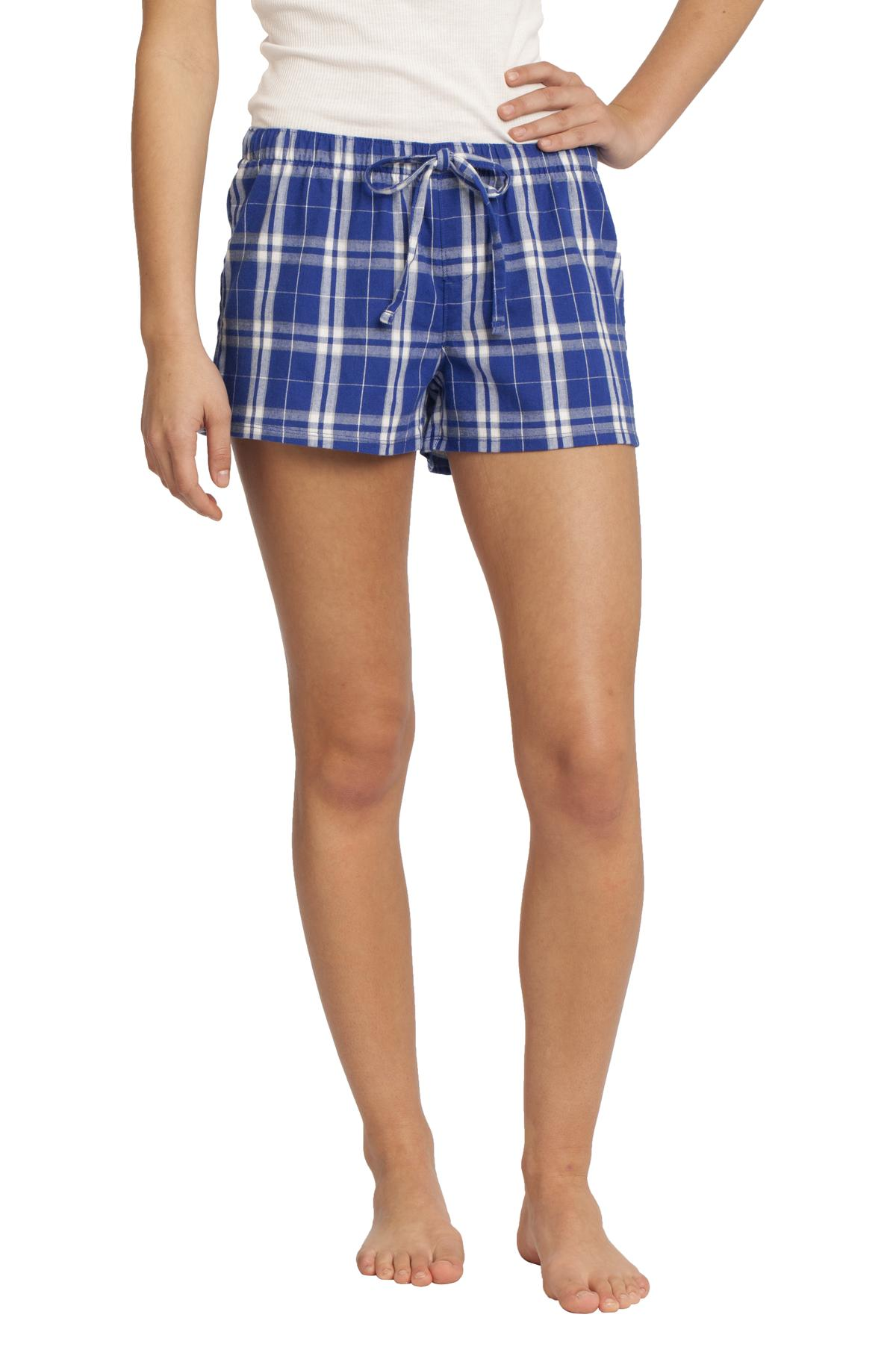 DISCONTINUED District -Juniors Flannel Plaid Boxer. DT2801