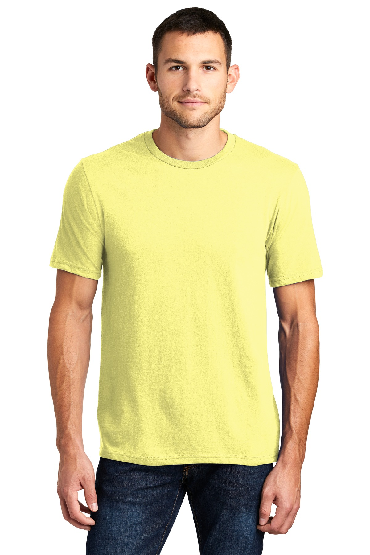 District ®  Very Important Tee ® . DT6000 - Lemon Yellow