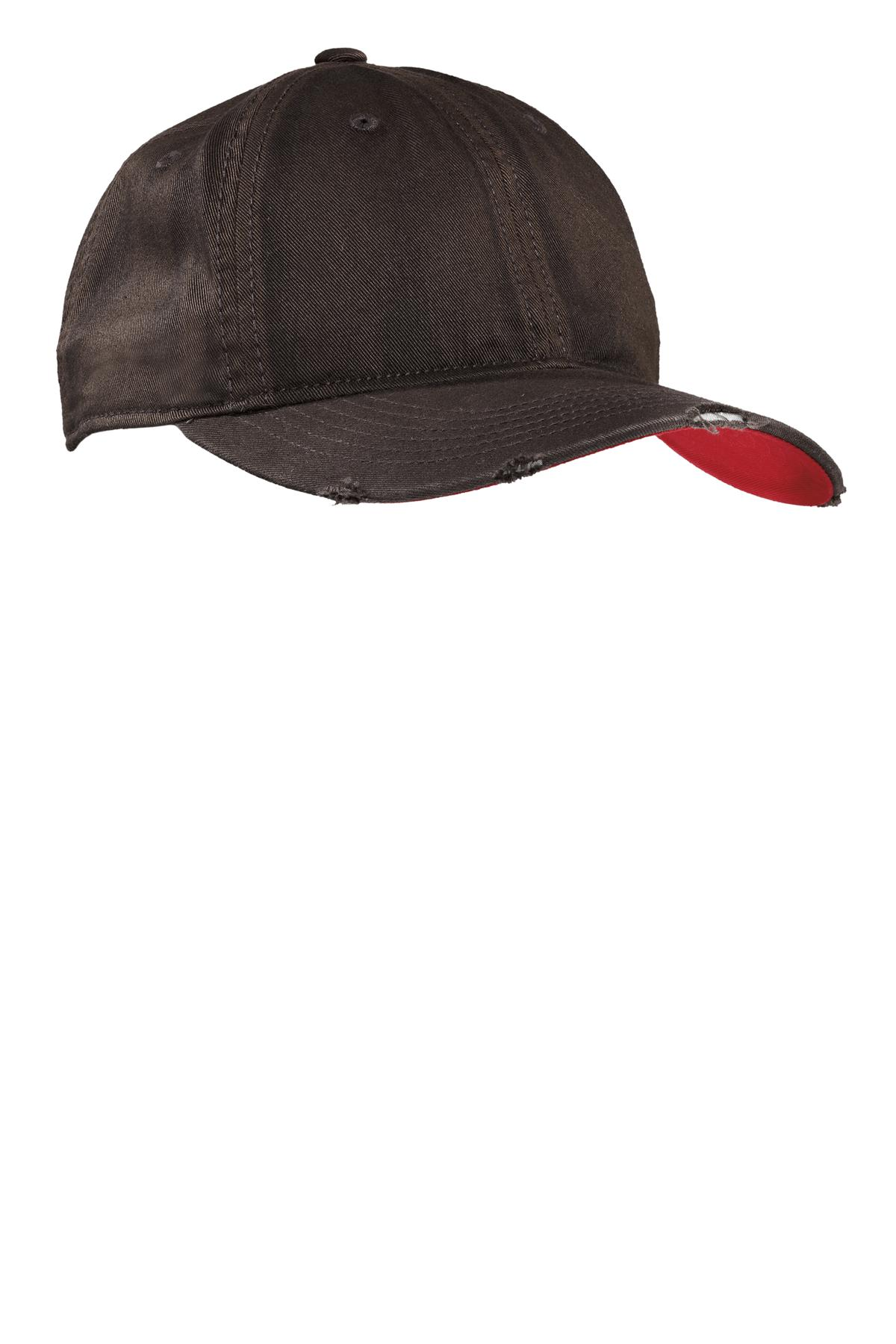 CLOSEOUT District - Sun Bleached and Distressed Cap. DT615